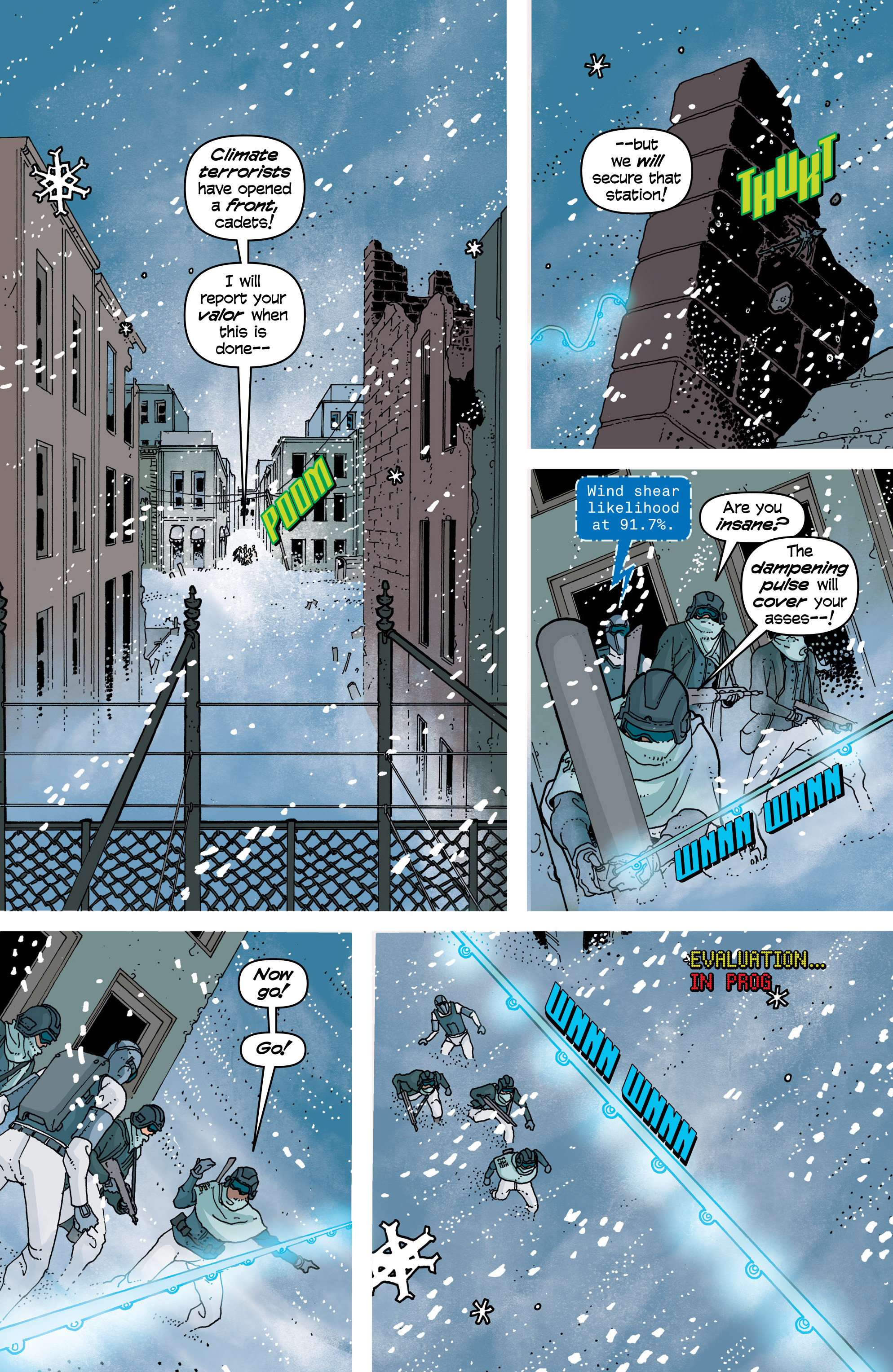 Read online Snowfall comic -  Issue #7 - 4