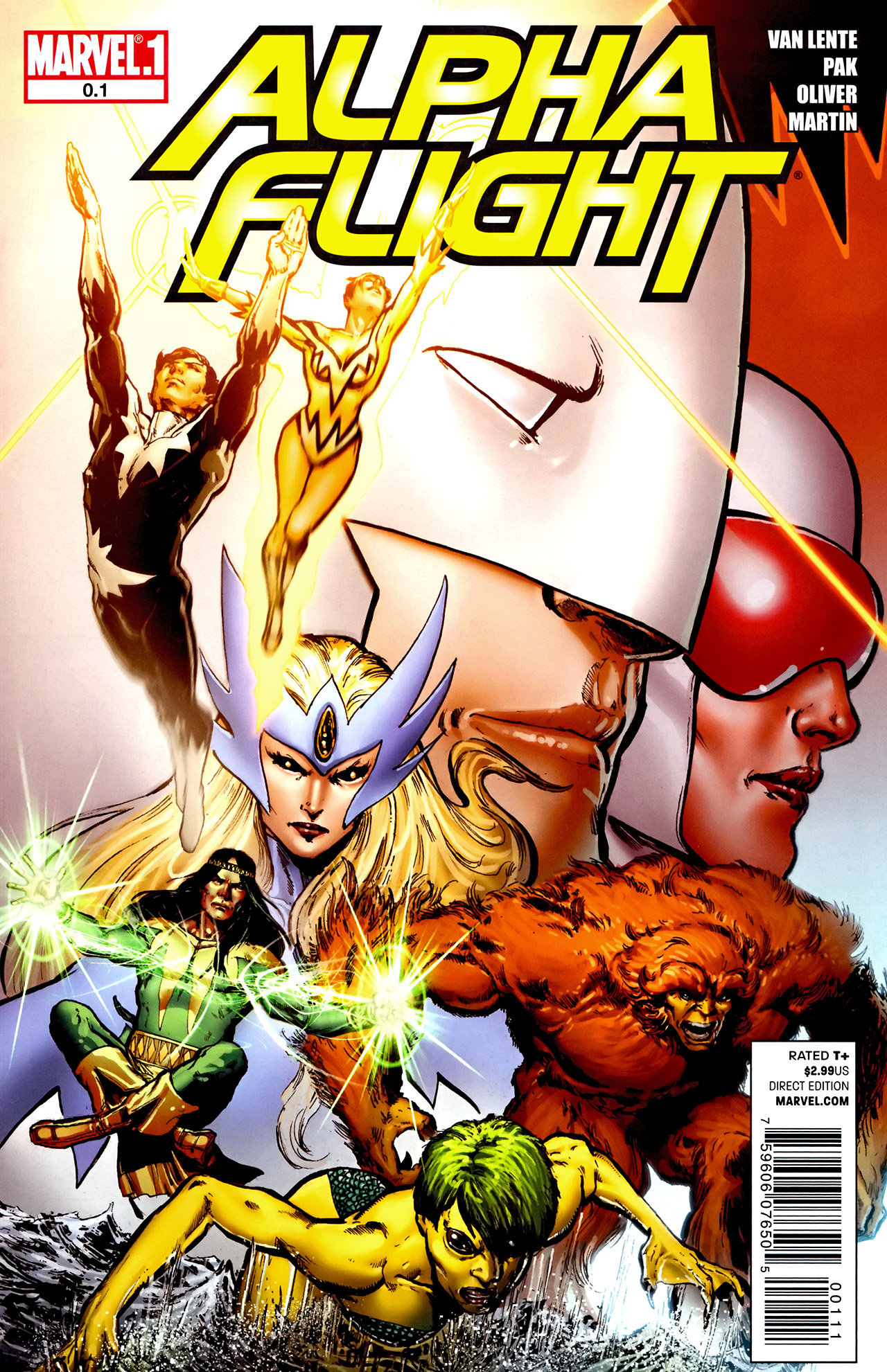 Read online Alpha Flight (2011) comic -  Issue #0.1 - 1