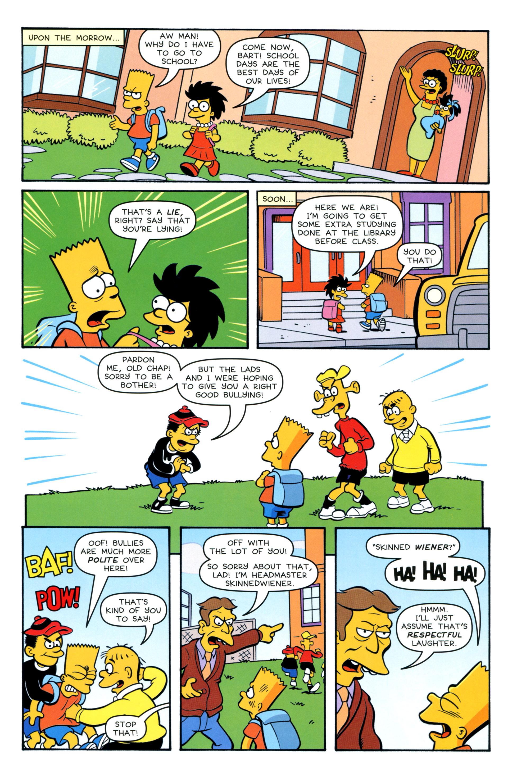 Read online Simpsons Comics comic -  Issue #208 - 11