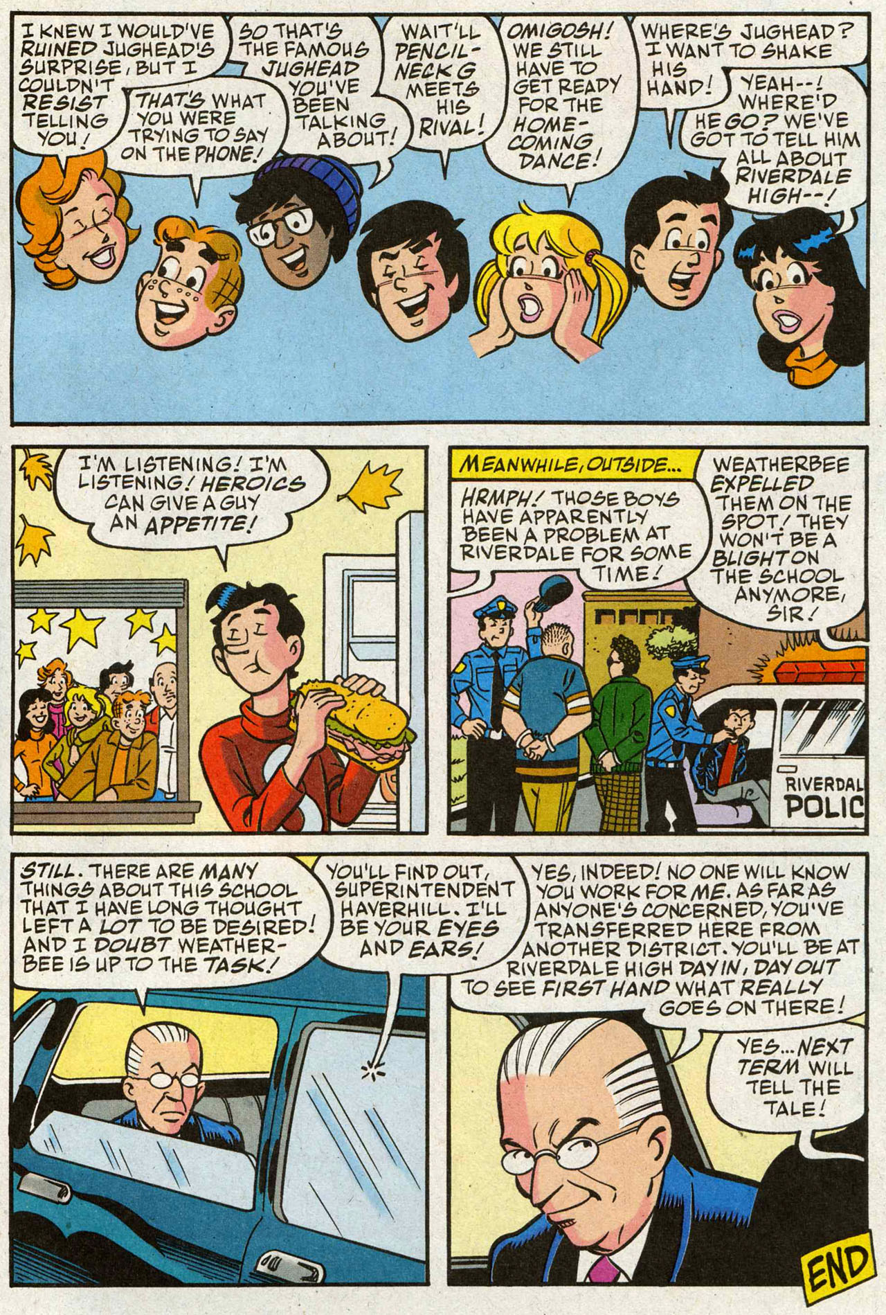 Read online Archie (1960) comic -  Issue #588 - 24