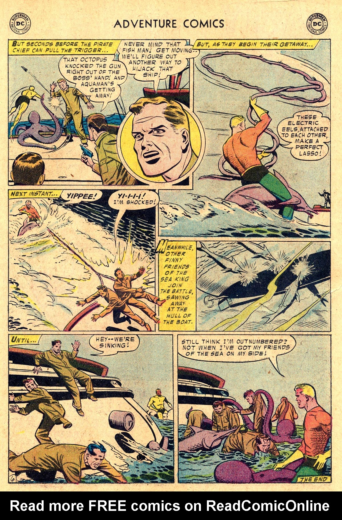 Read online Adventure Comics (1938) comic -  Issue #238 - 23