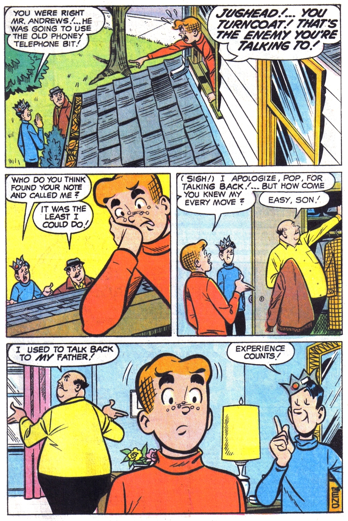 Read online Archie (1960) comic -  Issue #190 - 33