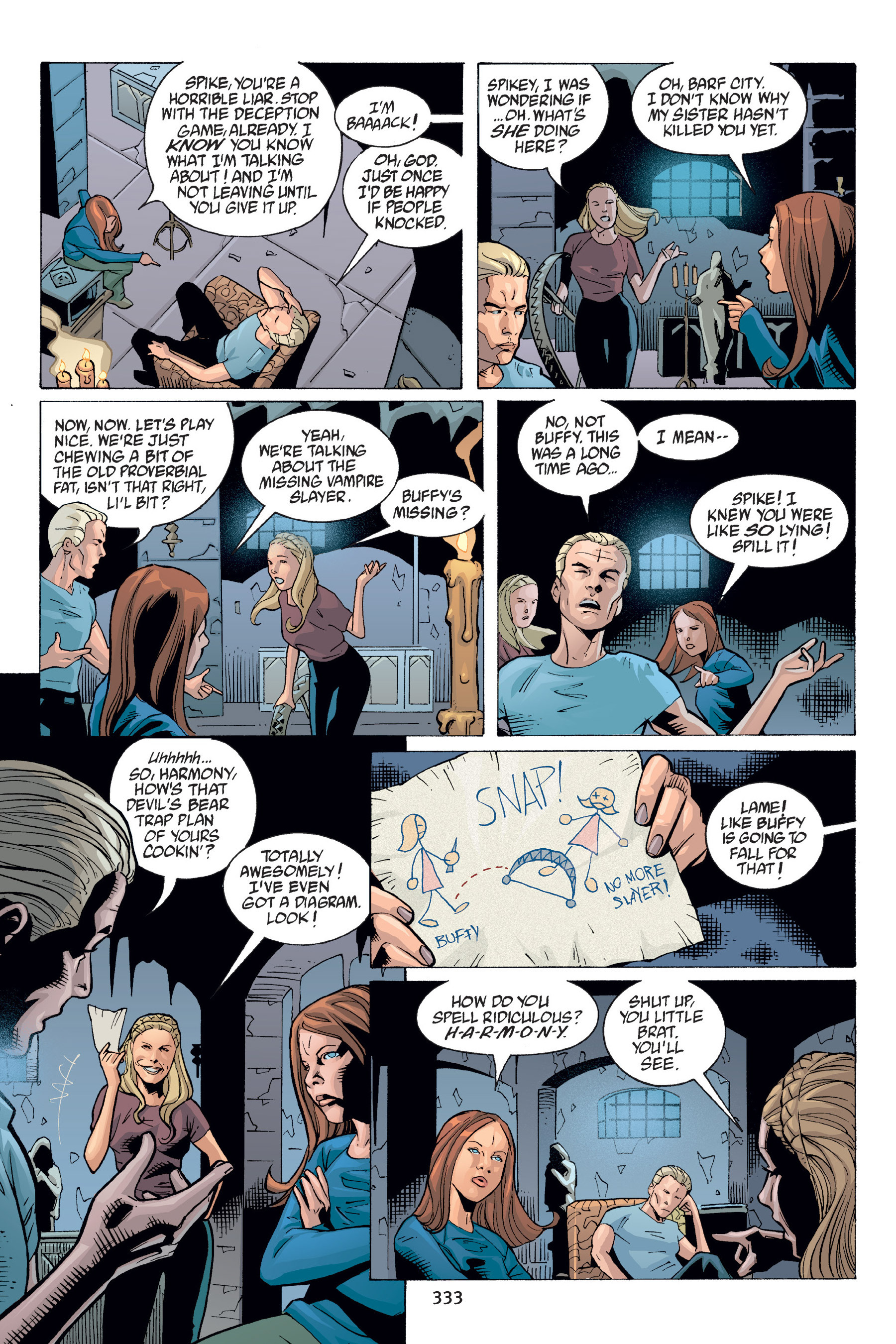 Read online Buffy the Vampire Slayer: Omnibus comic -  Issue # TPB 6 - 329