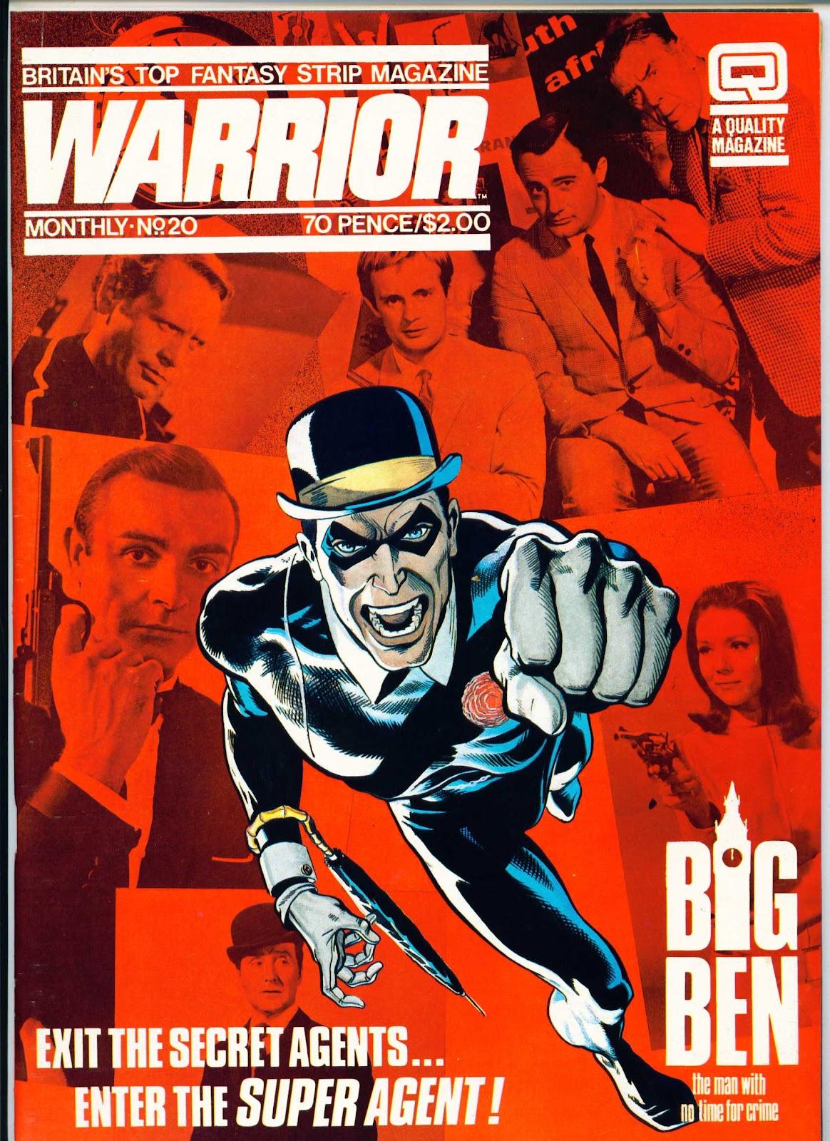 Warrior Issue #20 #21 - English 1