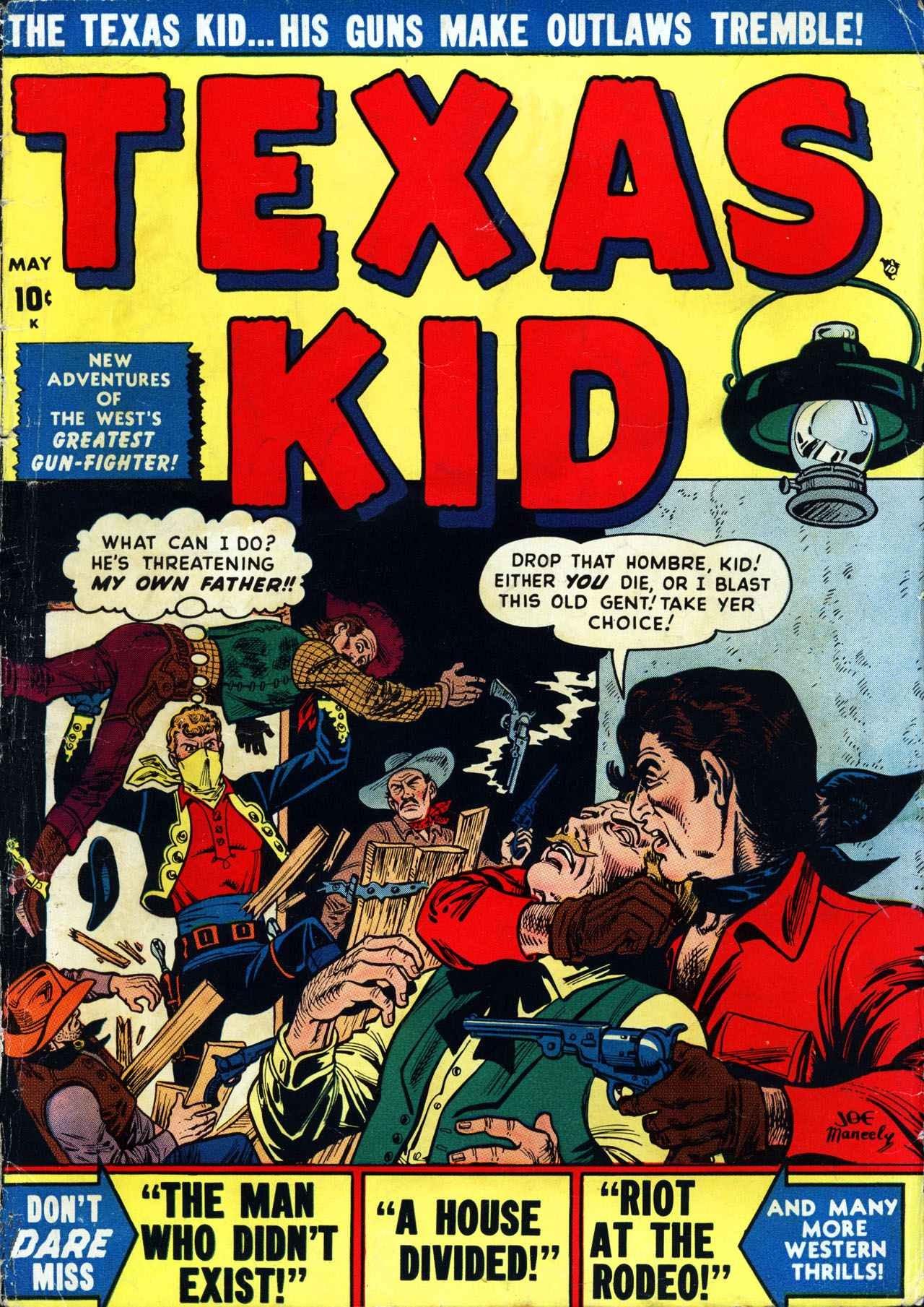 Texas Kid 3 Page 1