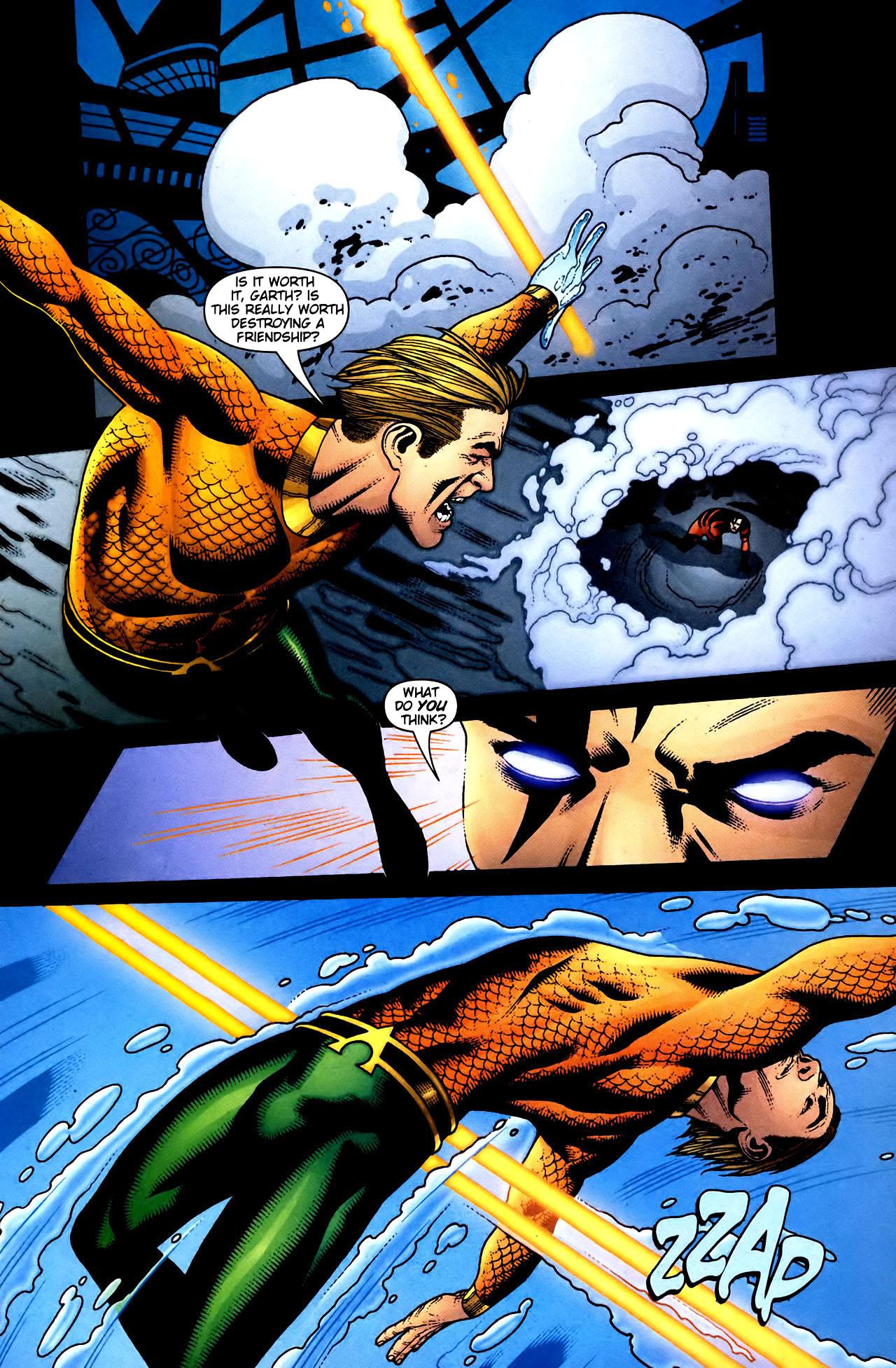 Read online Aquaman (2003) comic -  Issue #34 - 4