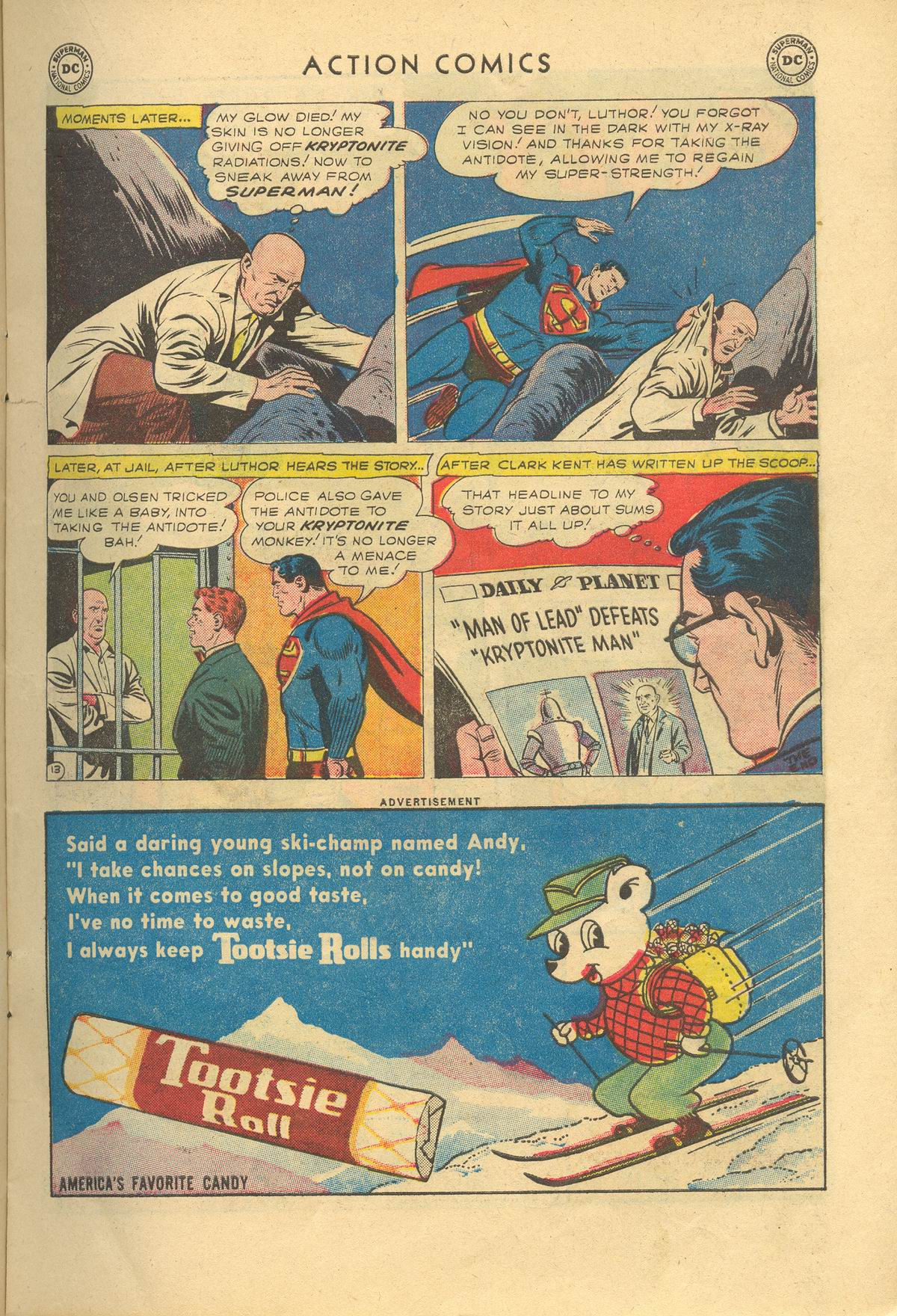 Read online Action Comics (1938) comic -  Issue #249 - 15