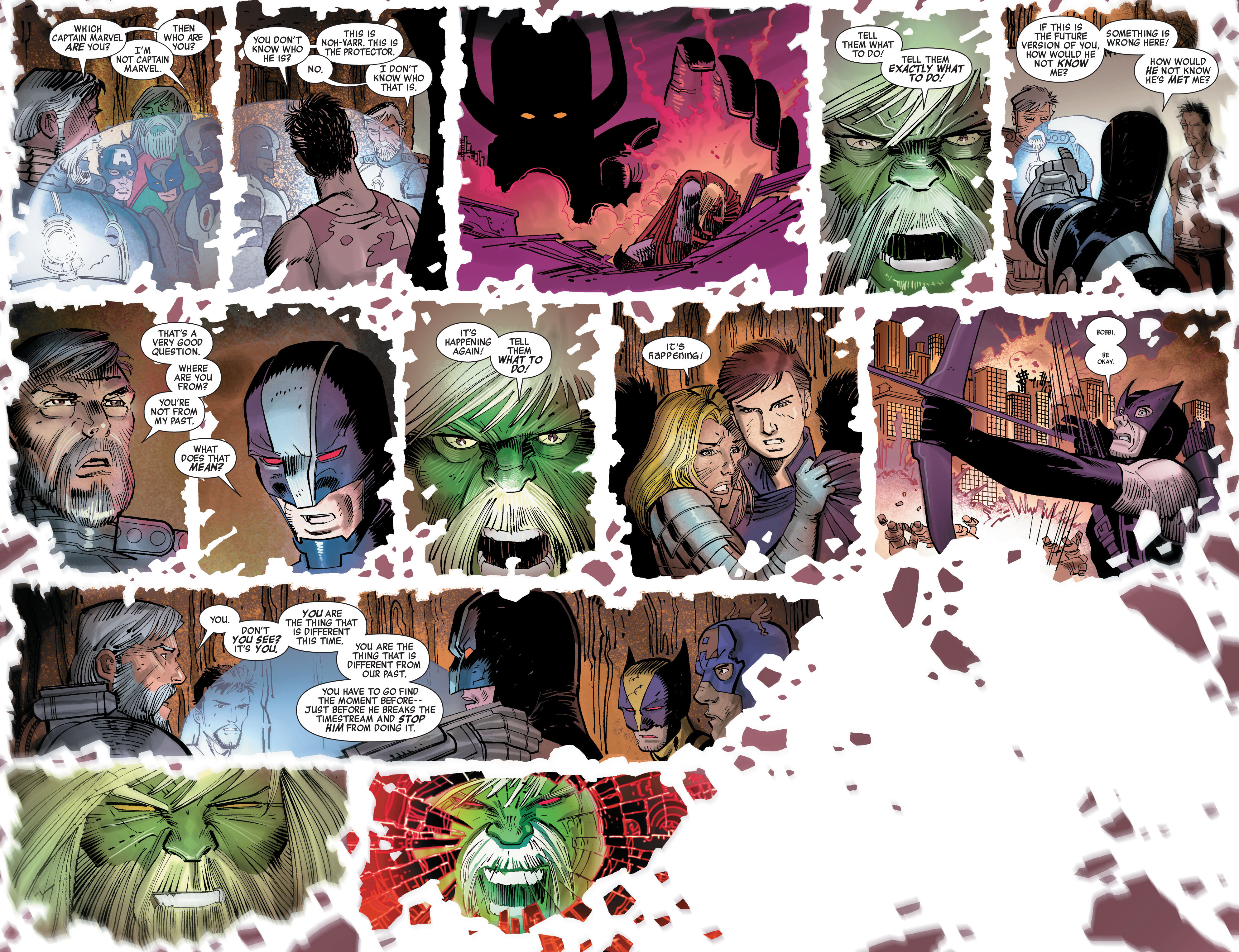 Read online Avengers (2010) comic -  Issue #5 - 12