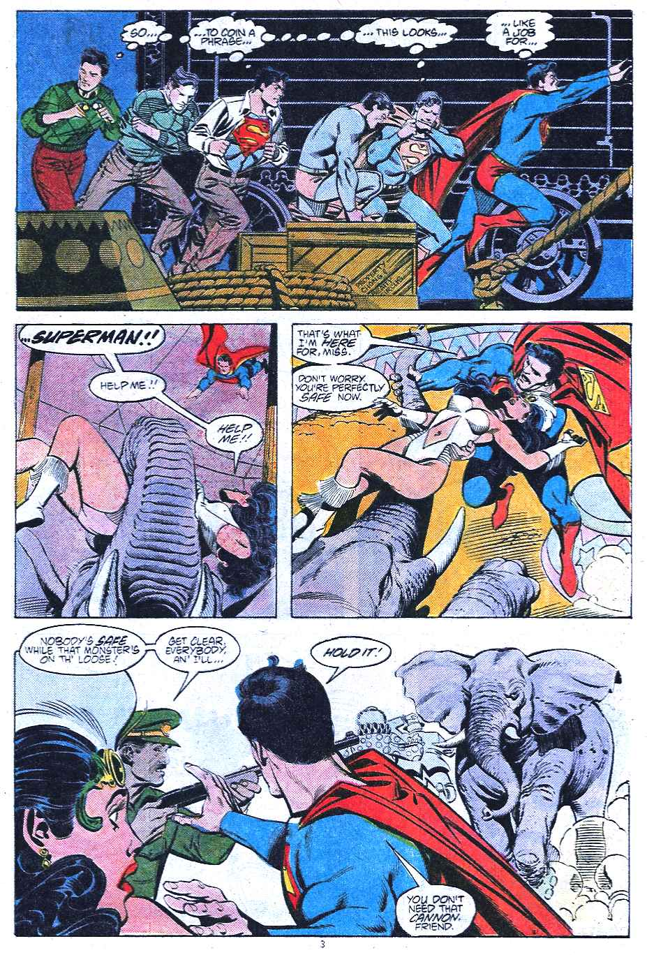 Read online Adventures of Superman (1987) comic -  Issue #438 - 4