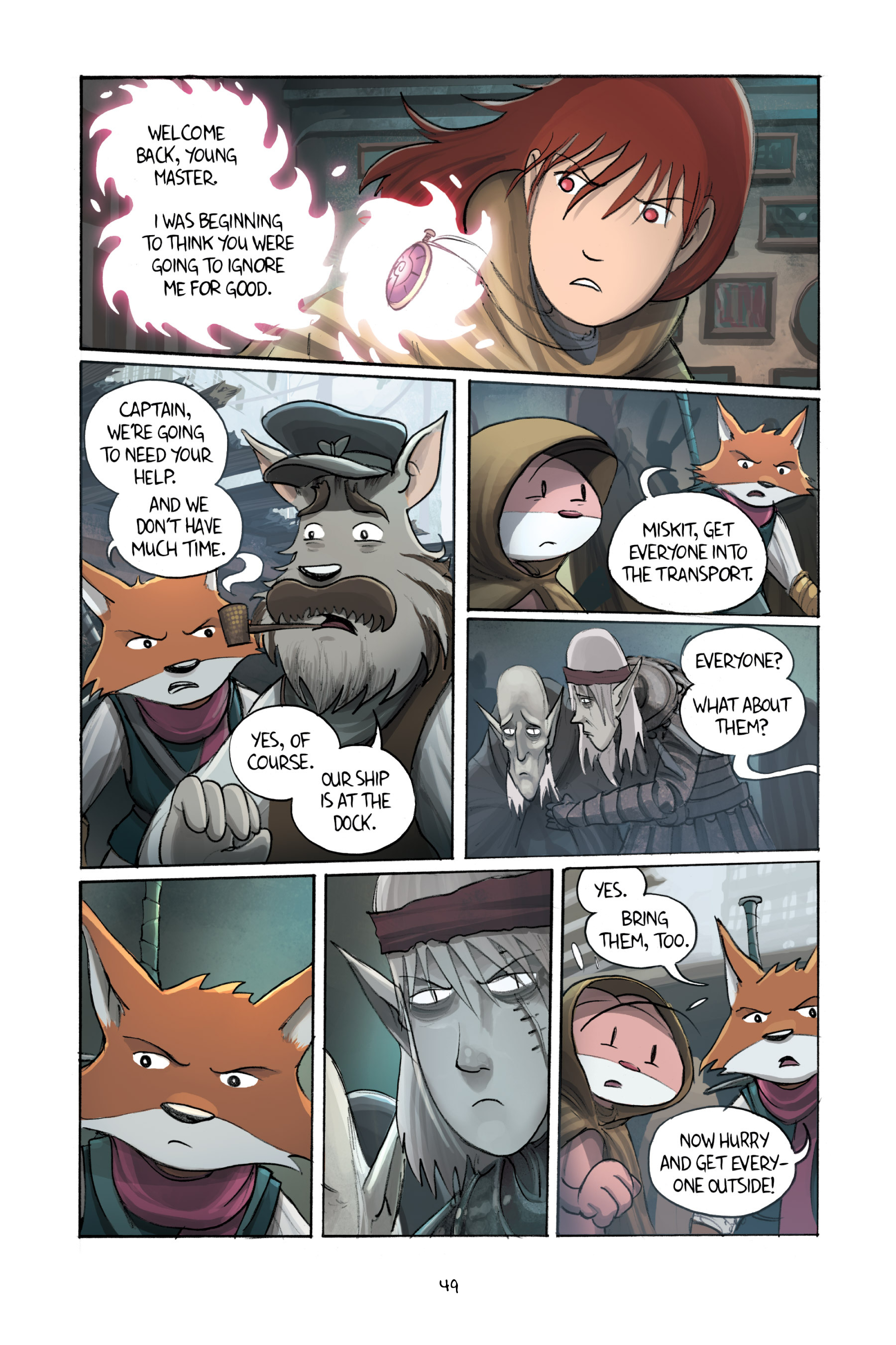 Read online Amulet comic -  Issue #3 - 48