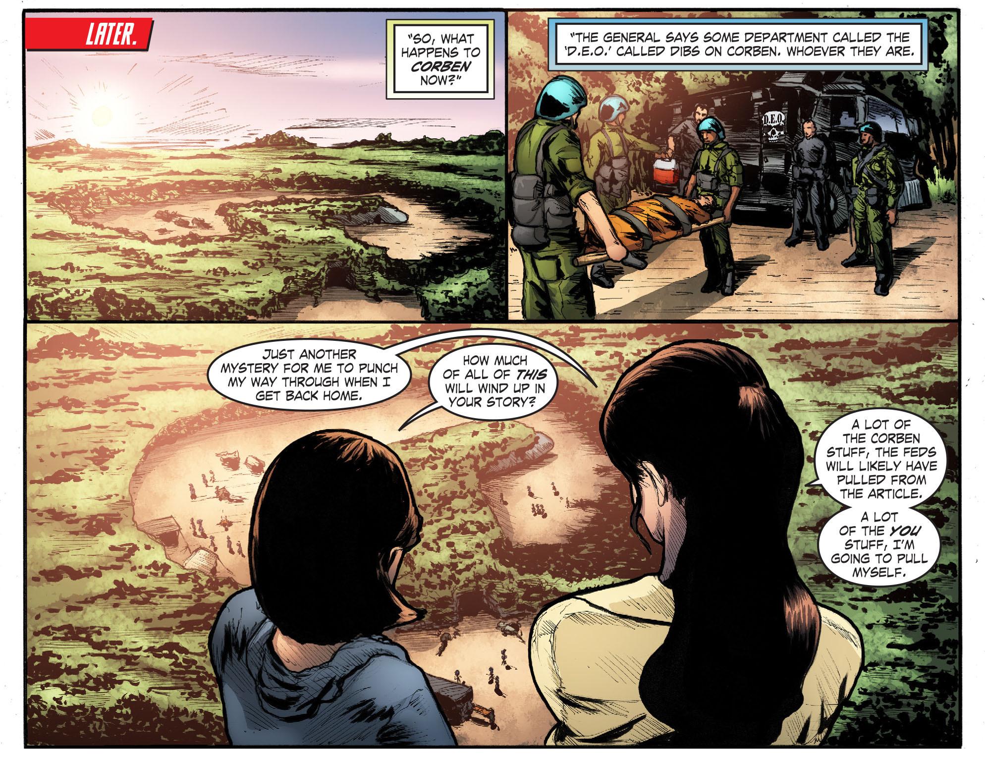 Read online Smallville: Season 11 comic -  Issue #50 - 19