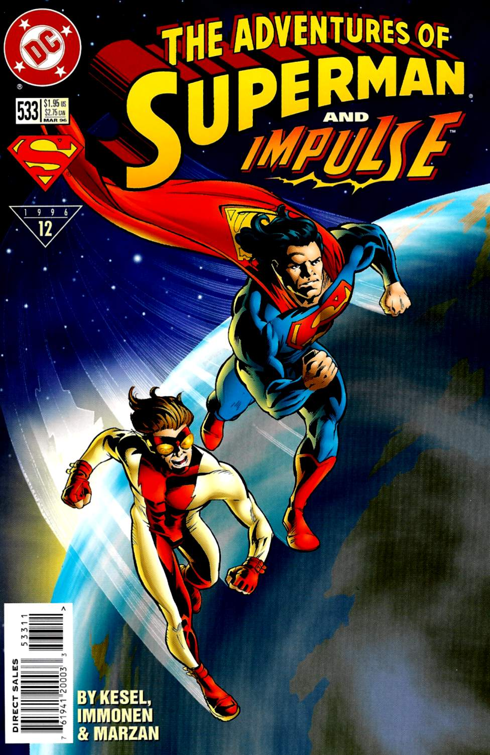 Read online Adventures of Superman (1987) comic -  Issue #533 - 1