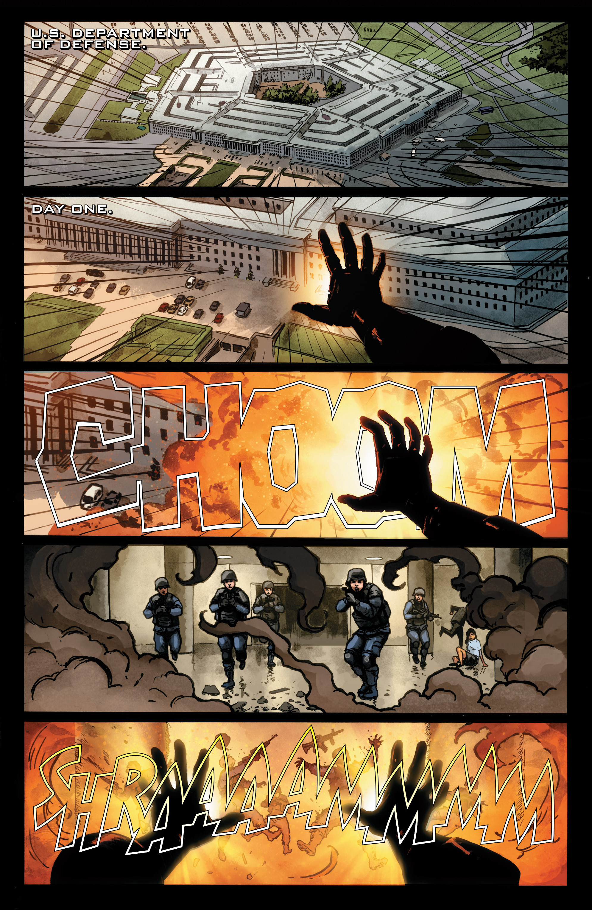 Read online Agents of S.H.I.E.L.D. comic -  Issue #1 - 2