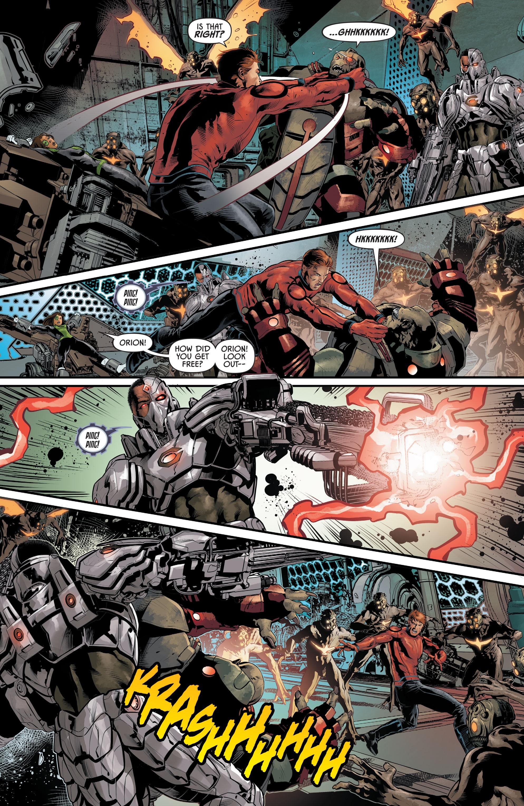 Justice League Odyssey #17 #17 - English 14