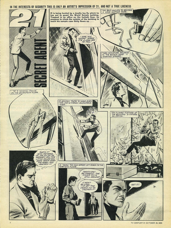 Read online TV Century 21 (TV 21) comic -  Issue #93 - 2