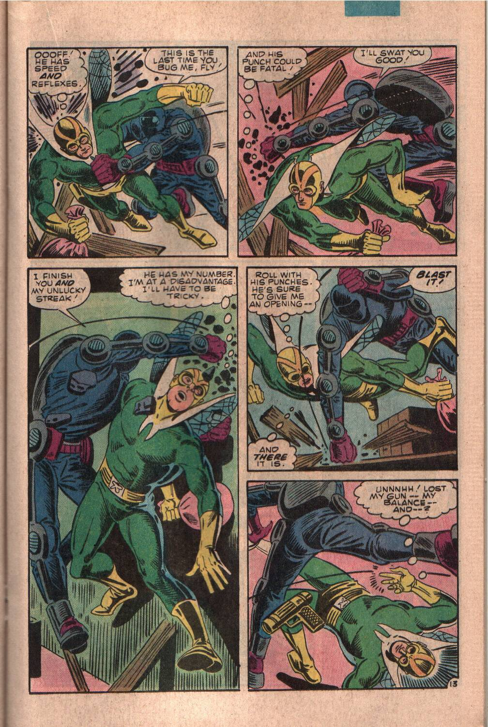 Read online The Fly (1983) comic -  Issue #7 - 14