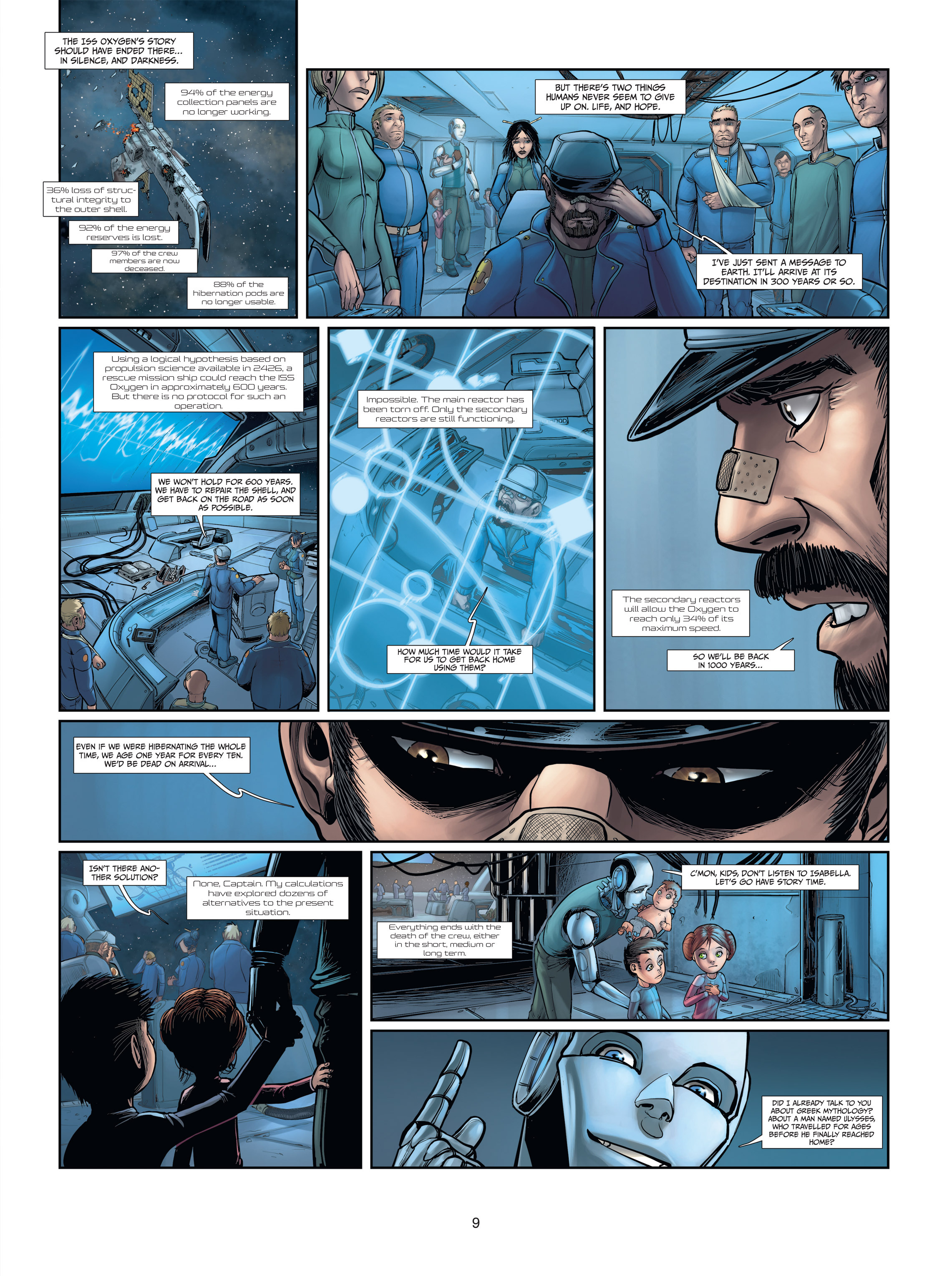 Read online Androïds comic -  Issue #2 - 9