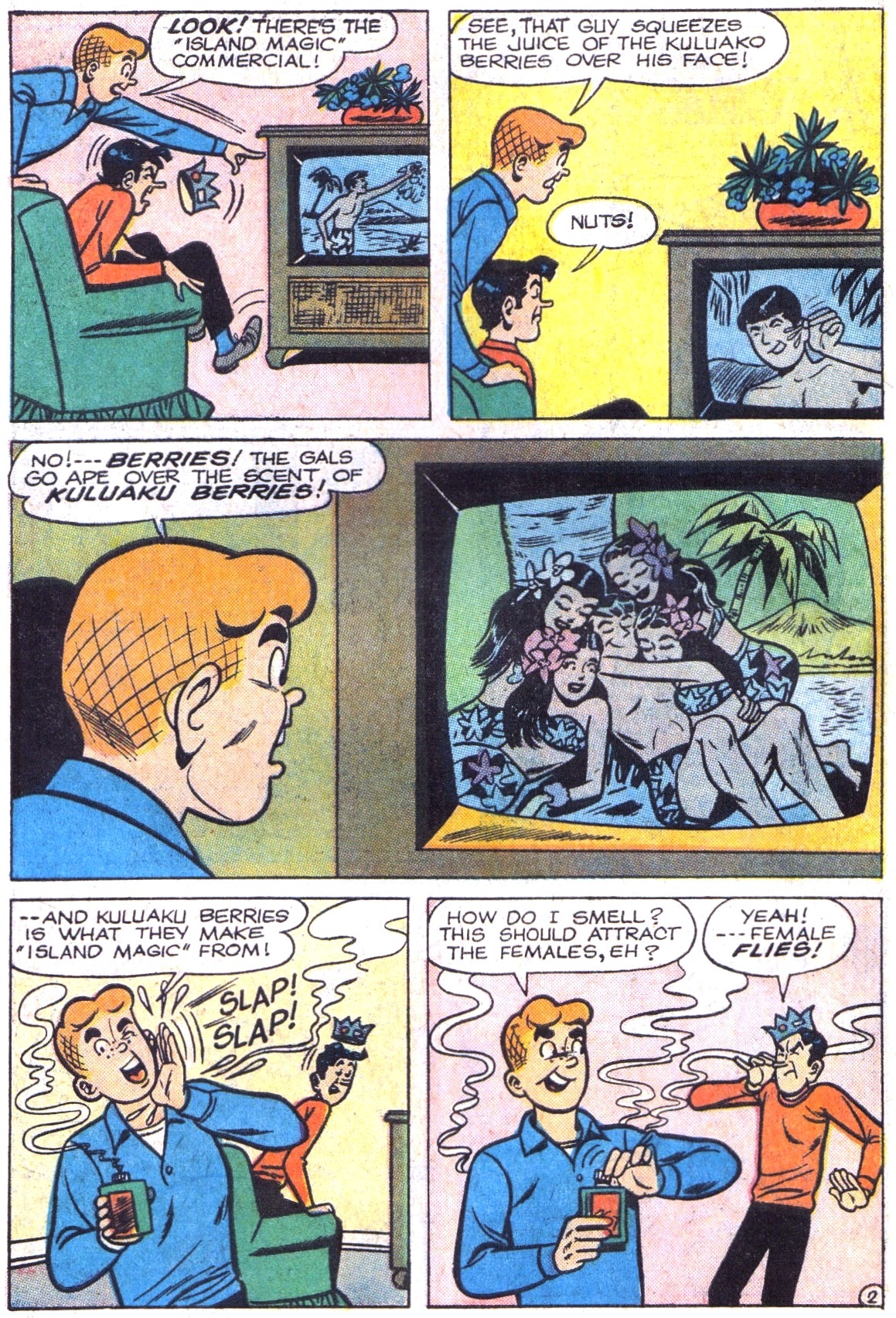 Read online Archie (1960) comic -  Issue #161 - 14