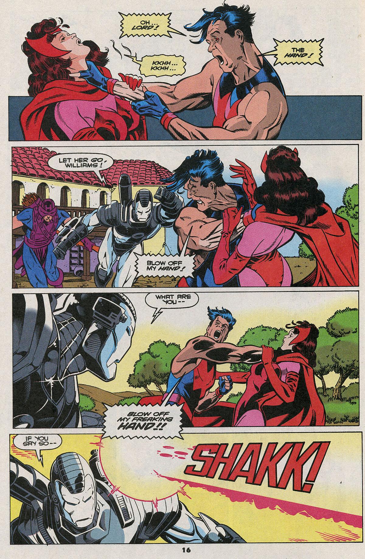 Read online Wonder Man (1991) comic -  Issue #23 - 12