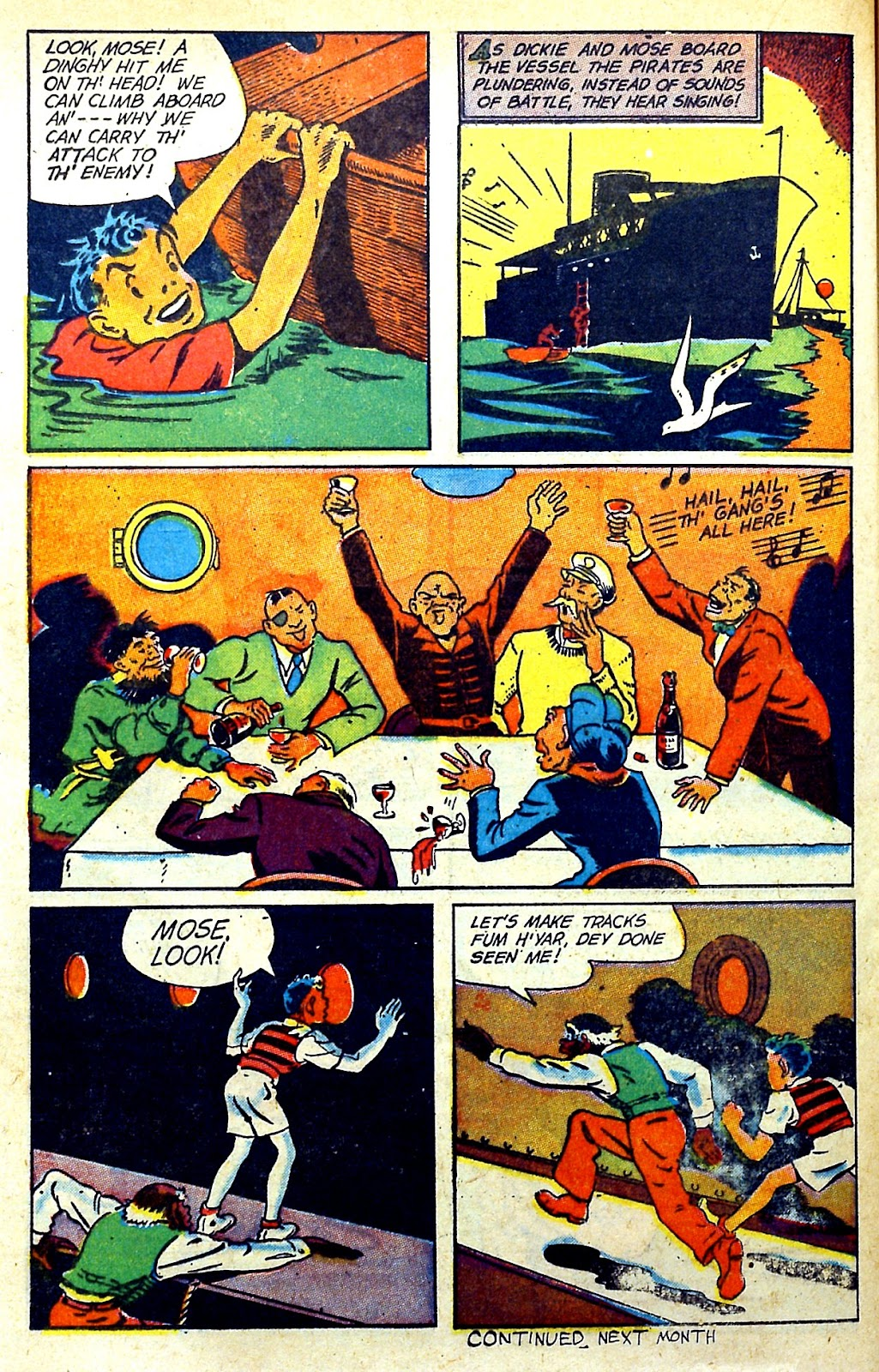 Read online Famous Funnies comic -  Issue #145 - 34