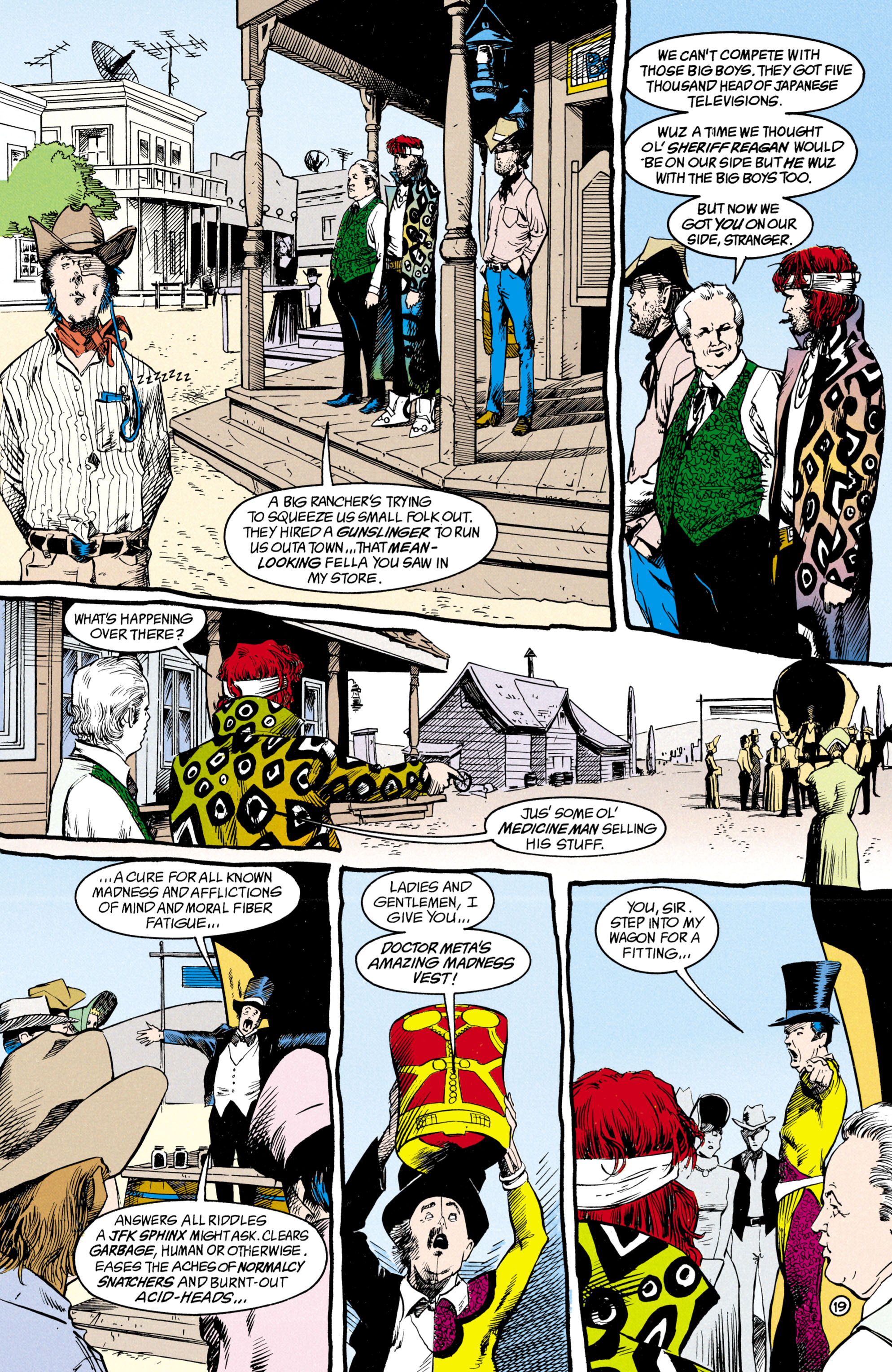 Read online Shade, the Changing Man comic -  Issue #15 - 15