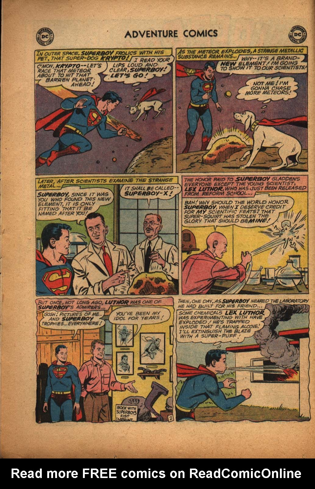Read online Adventure Comics (1938) comic -  Issue #292 - 4