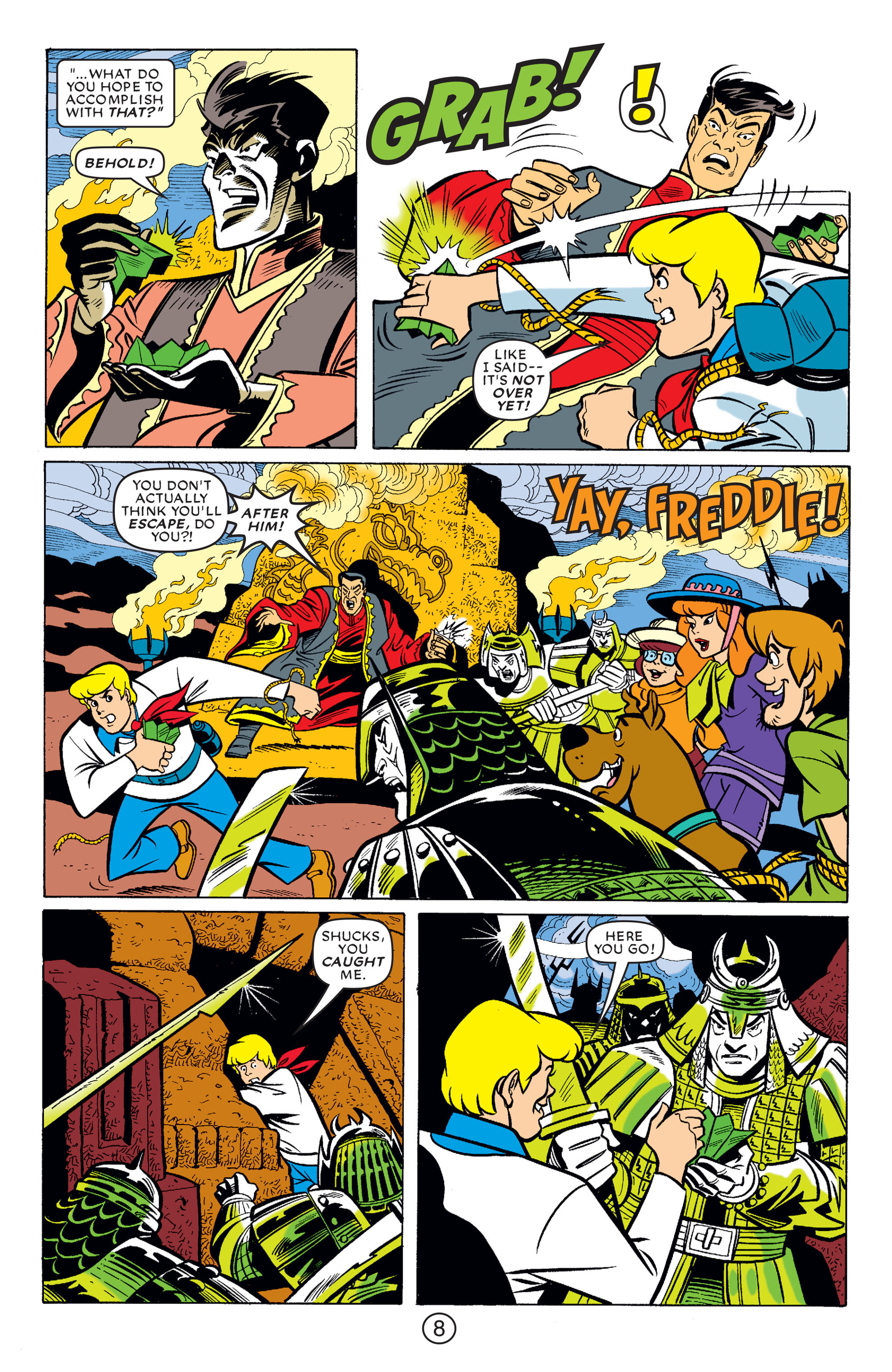 Read online Scooby-Doo (1997) comic -  Issue #66 - 19