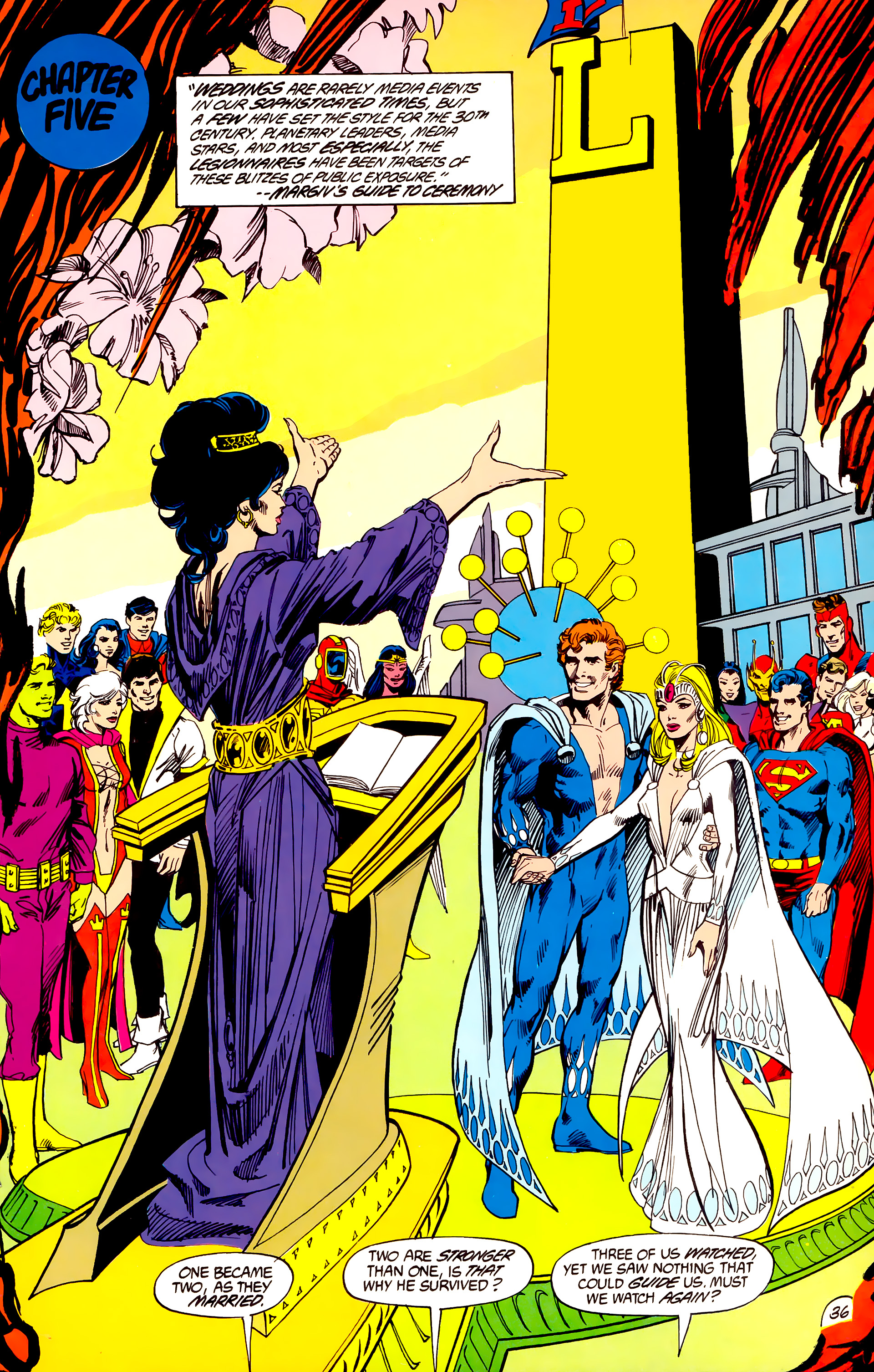 Legion of Super-Heroes (1984) 45 Page 36
