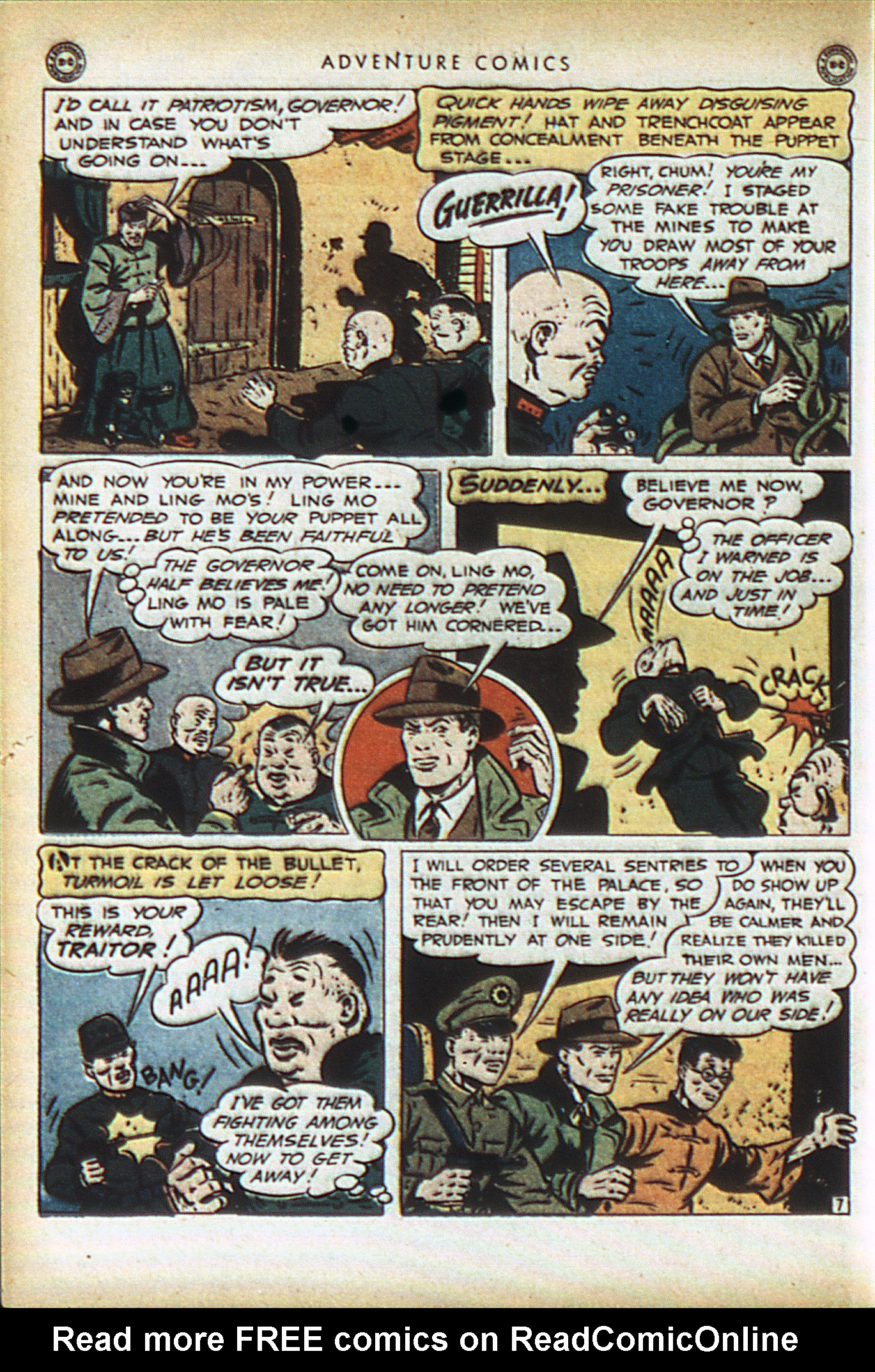 Read online Adventure Comics (1938) comic -  Issue #93 - 49