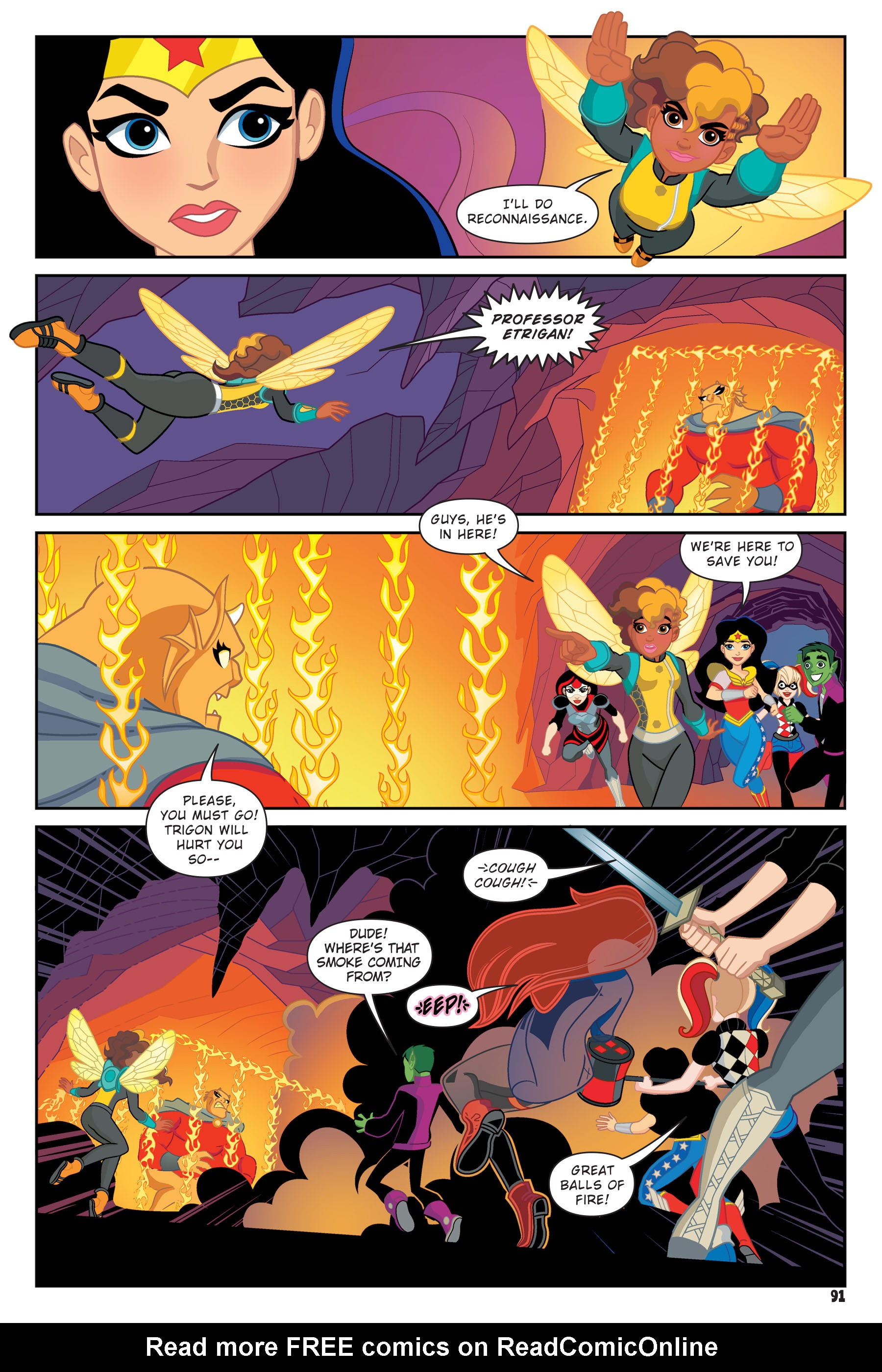 Read online DC Super Hero Girls: Hits and Myths comic -  Issue # Full - 88