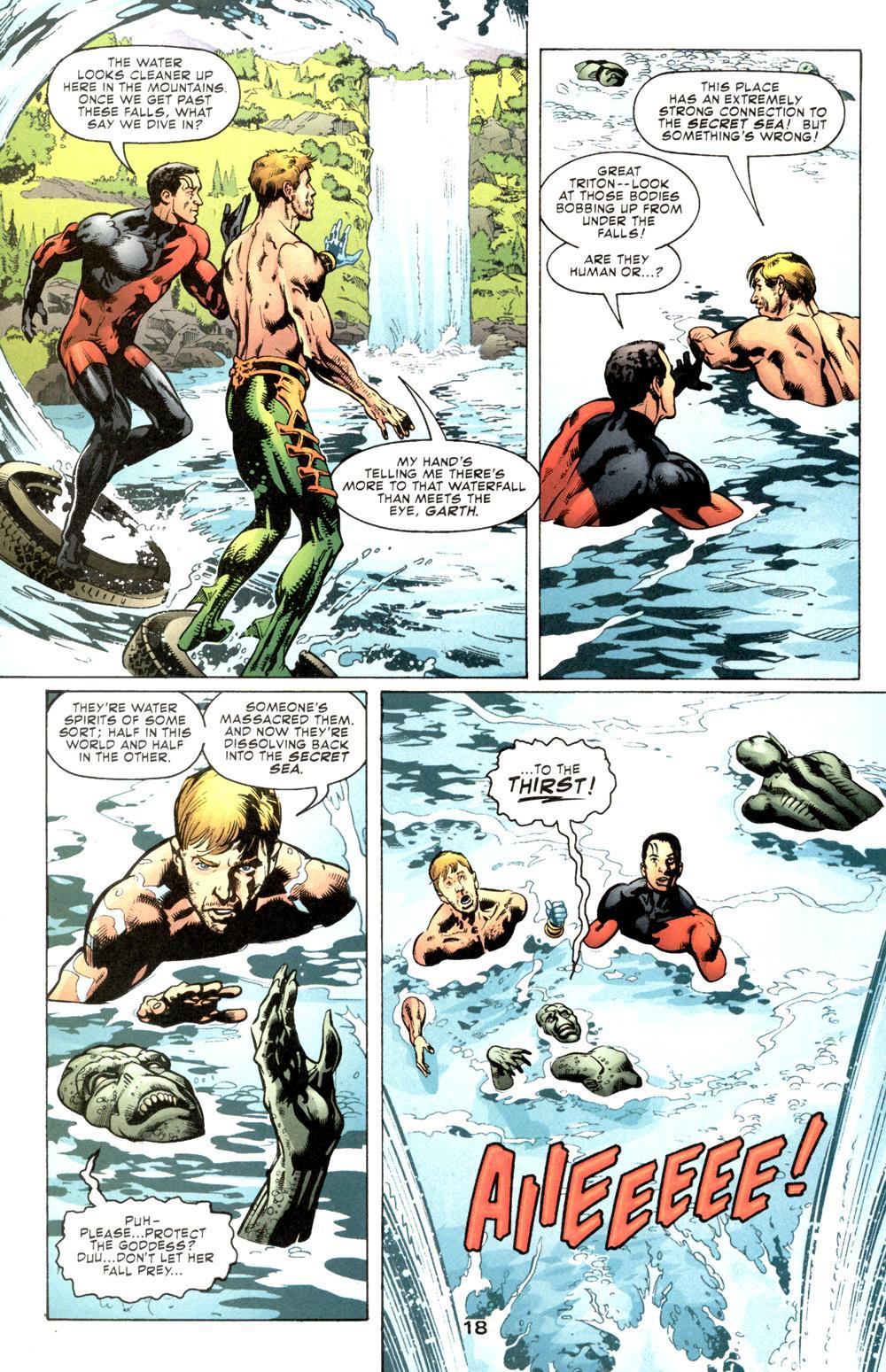 Read online Aquaman (2003) comic -  Issue #6 - 20