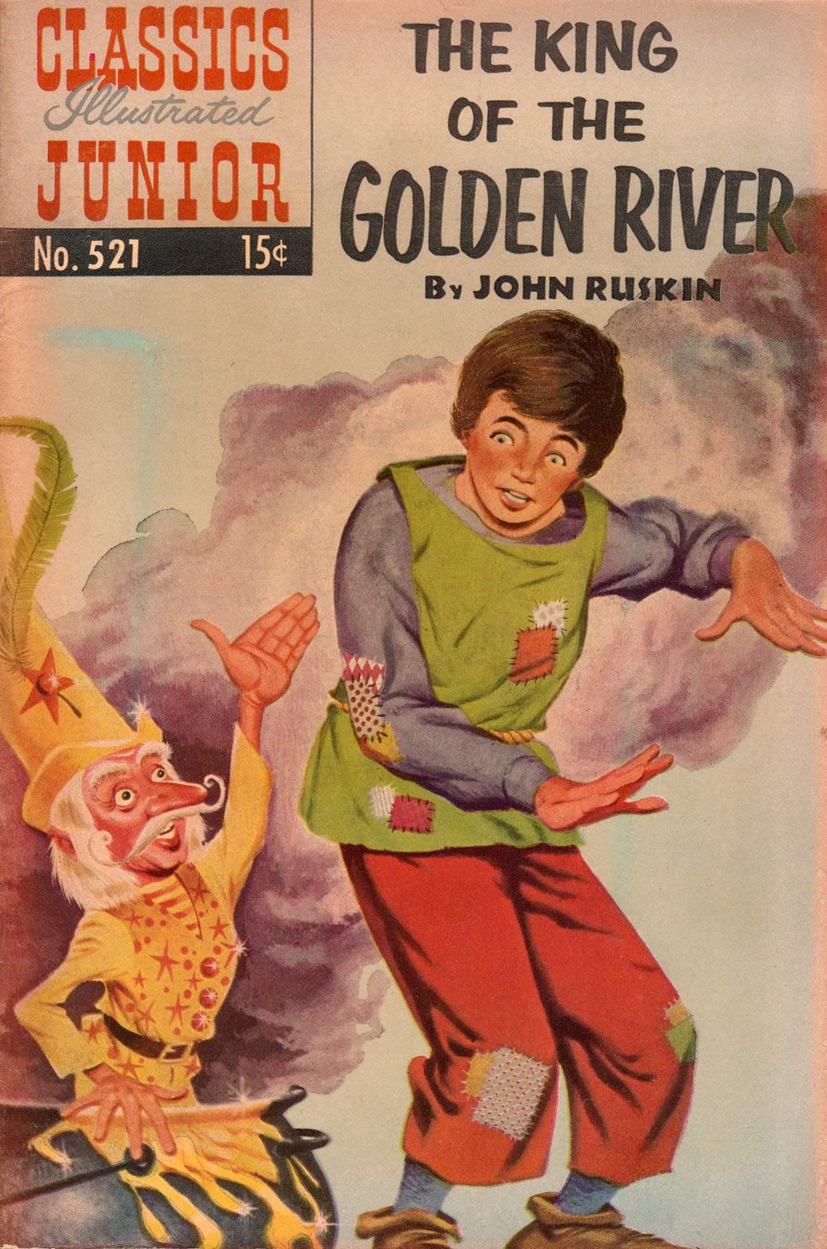 Classics Illustrated Junior 521 Page 1