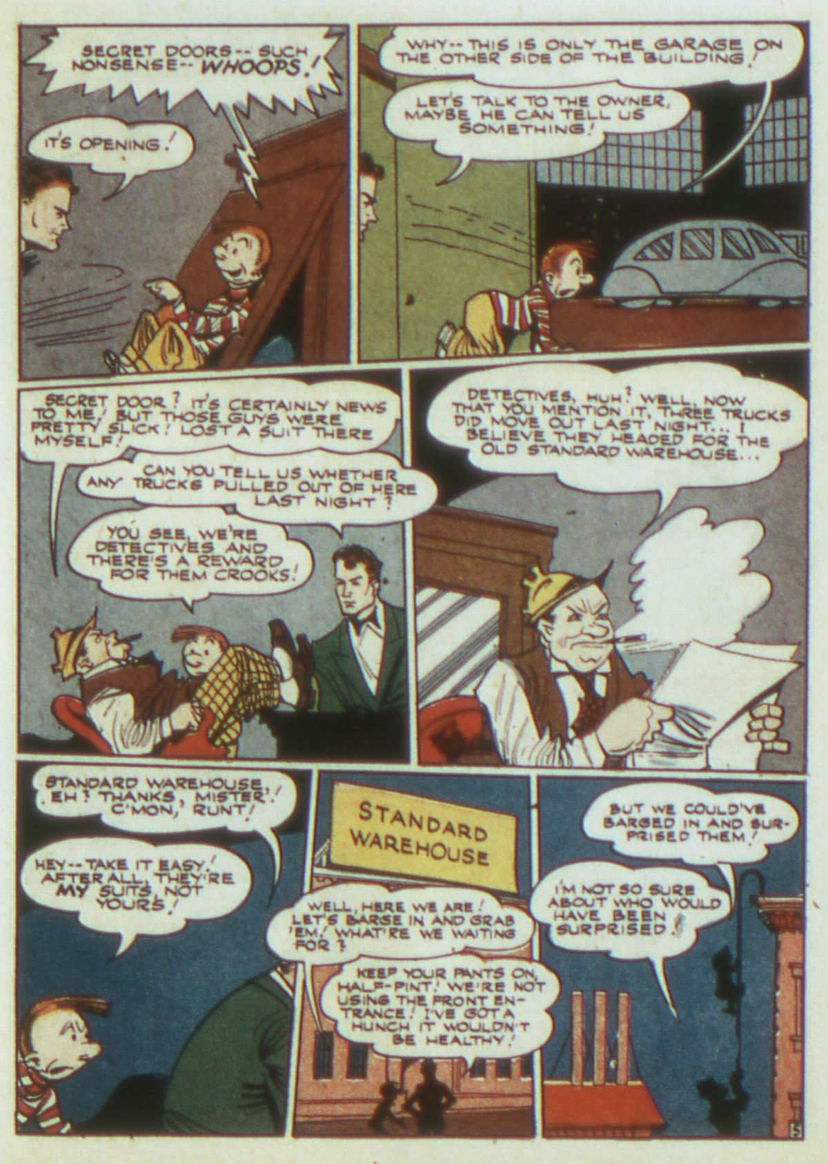 Read online Detective Comics (1937) comic -  Issue #82 - 21