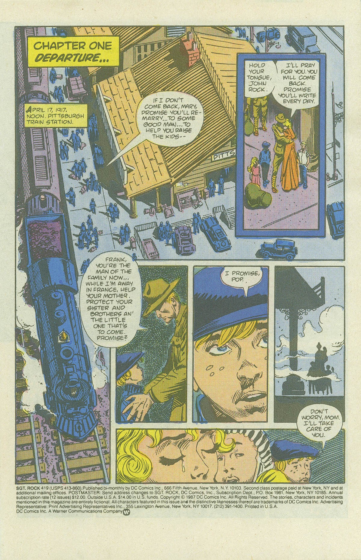 Read online Sgt. Rock comic -  Issue #419 - 3