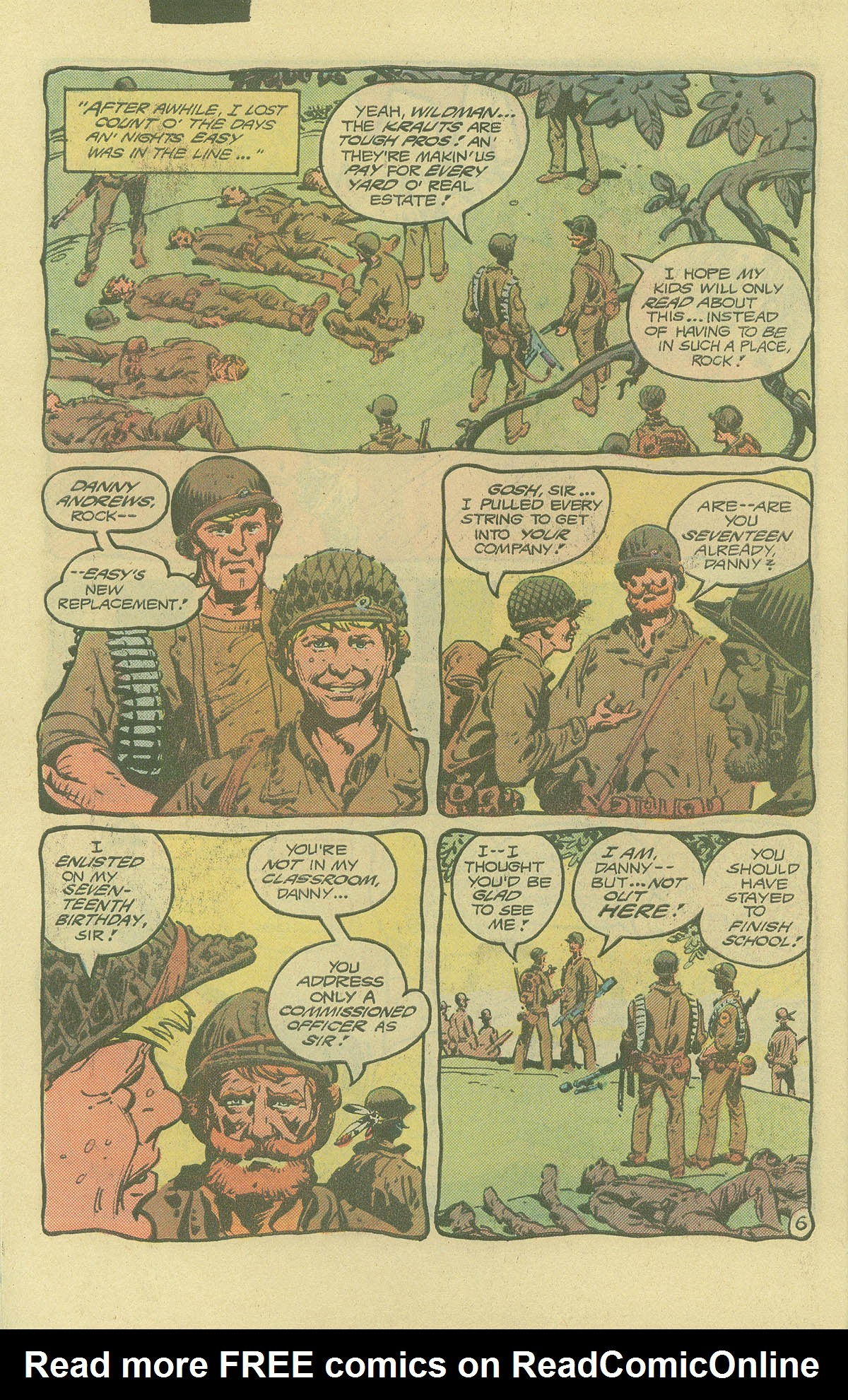Read online Sgt. Rock comic -  Issue #402 - 9