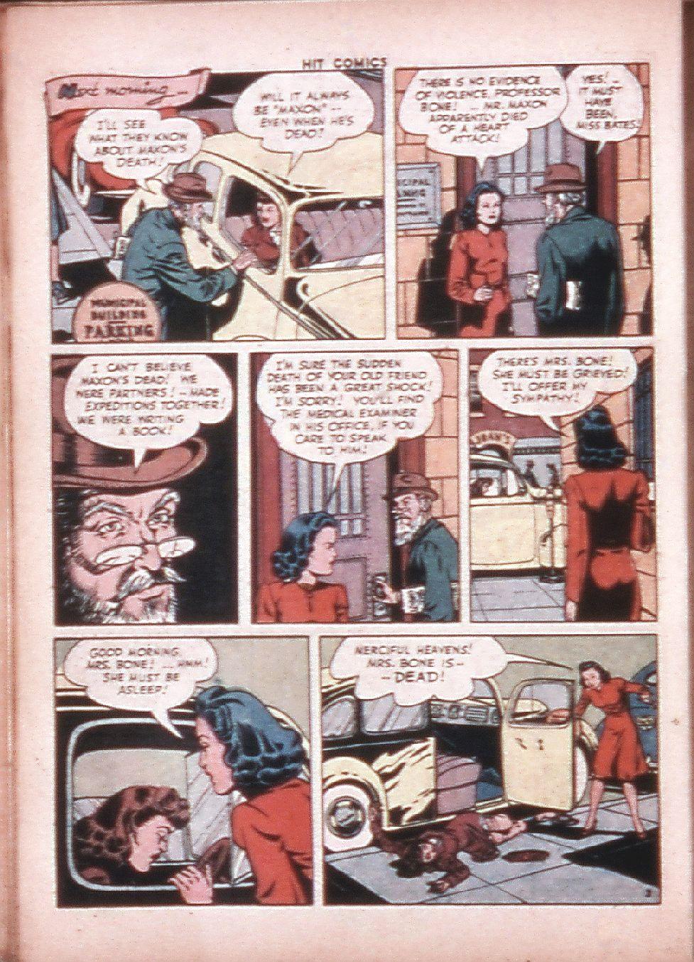 Read online Hit Comics comic -  Issue #33 - 31