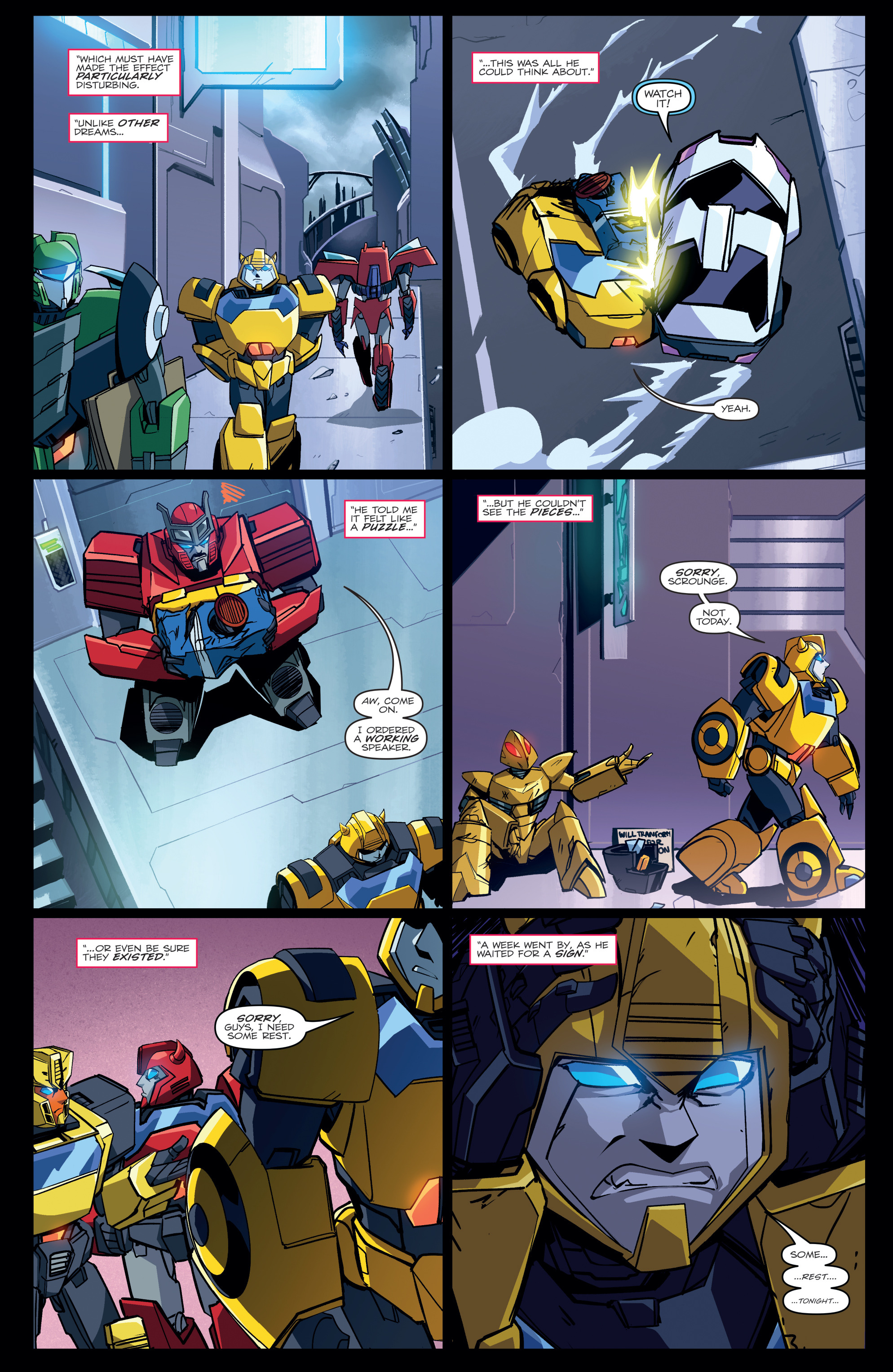 Read online Transformers Annual comic -  Issue # Full - 9