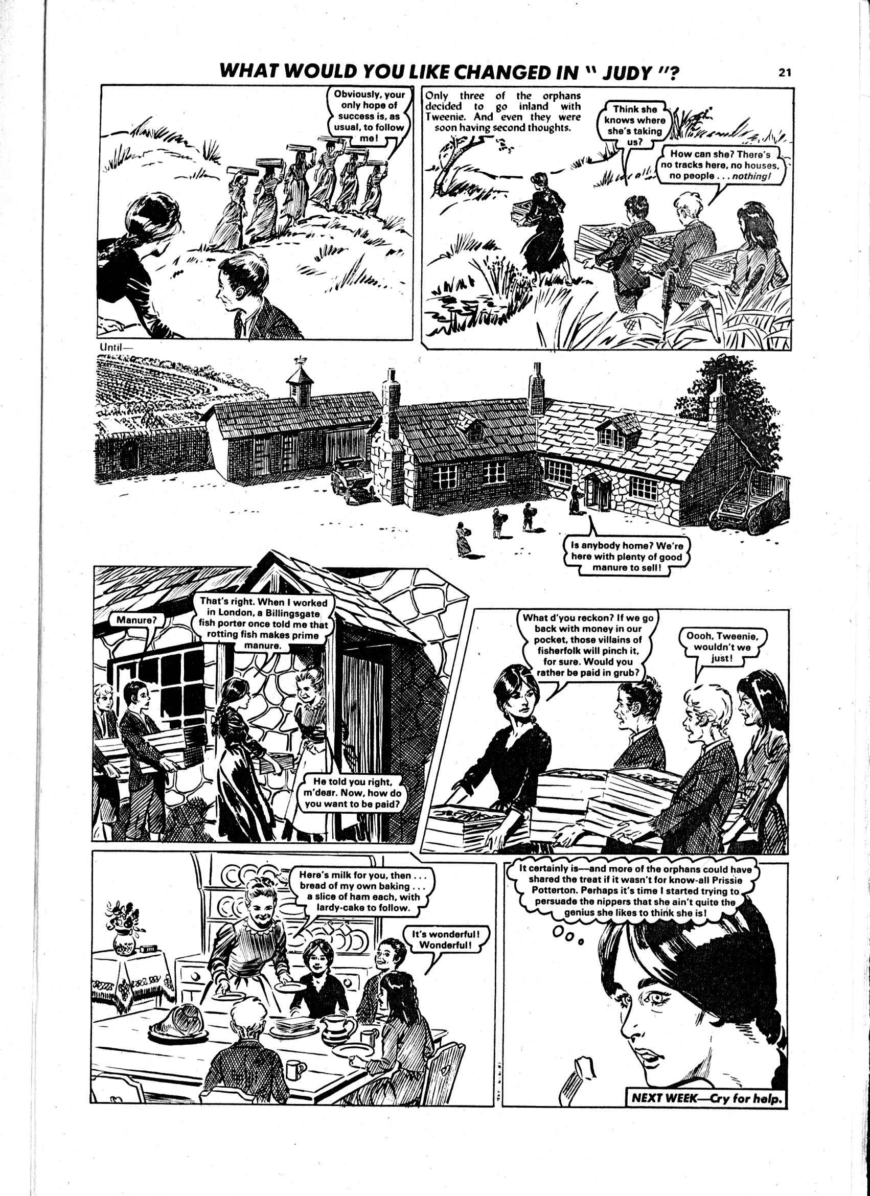 Read online Judy comic -  Issue #1108 - 21