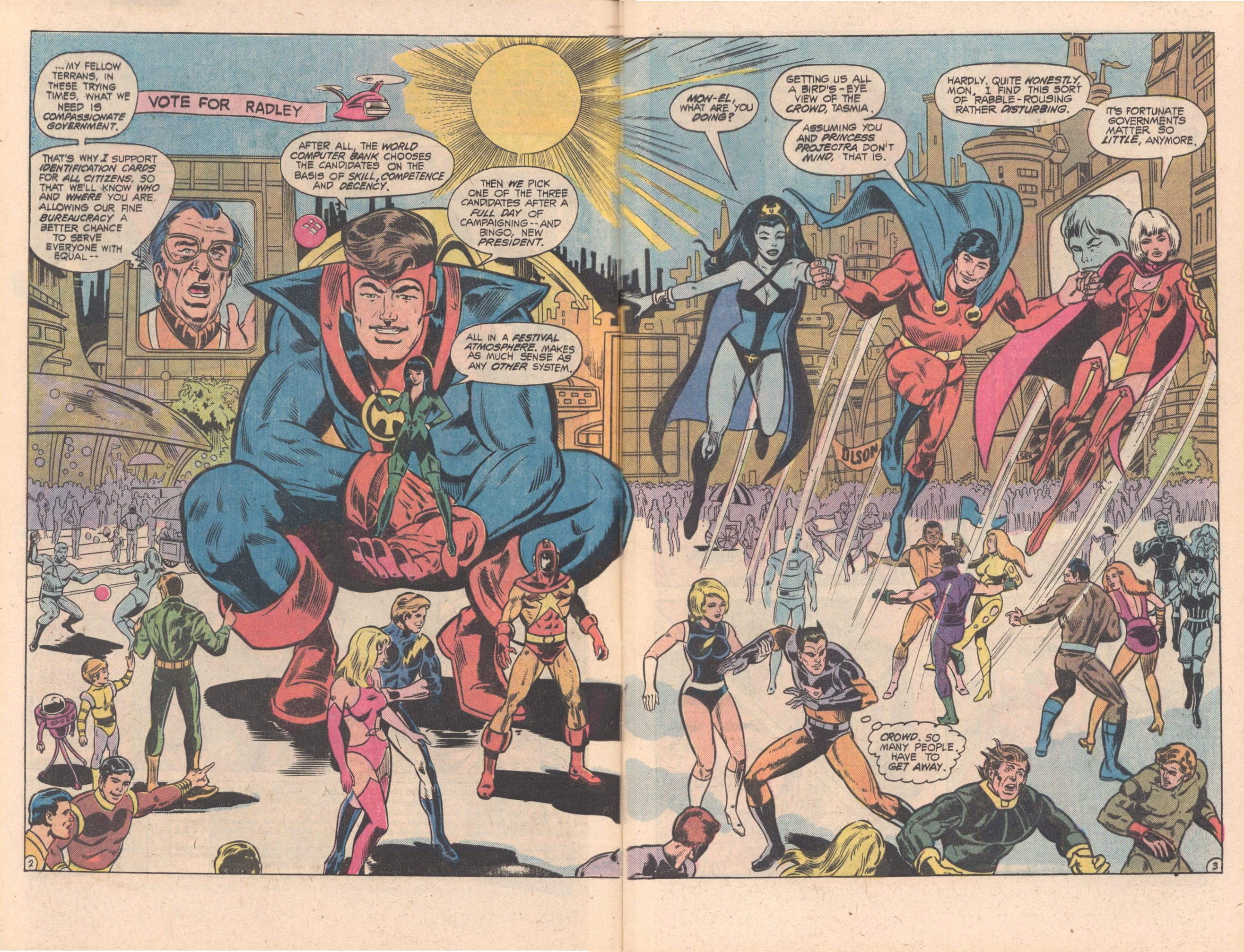 Legion of Super-Heroes (1980) 269 Page 2