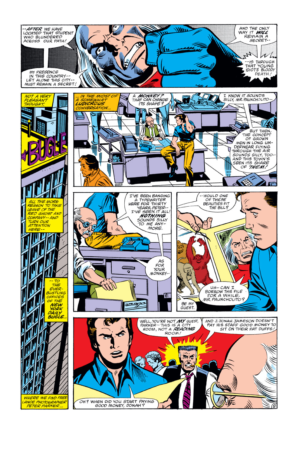 The Amazing Spider-Man (1963) 223 Page 8