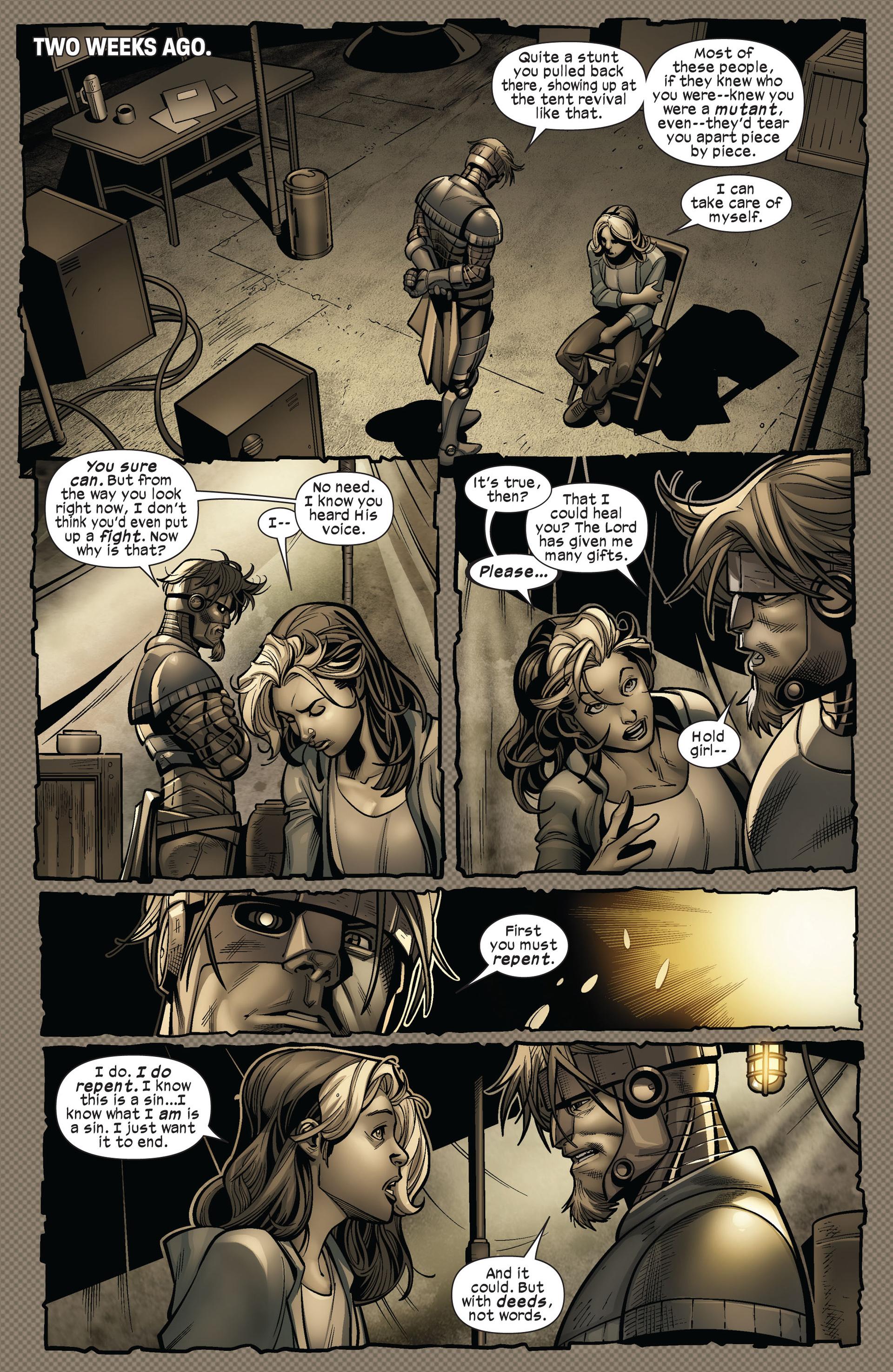Read online Ultimate Comics X-Men comic -  Issue #5 - 14