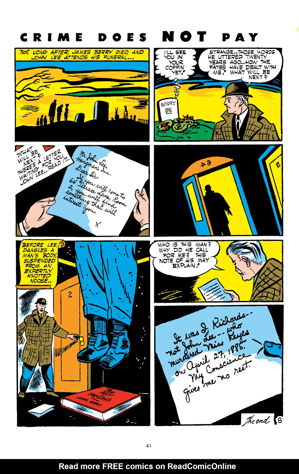 Read online Crime Does Not Pay Archives comic -  Issue # TPB 2 (Part 1) - 41