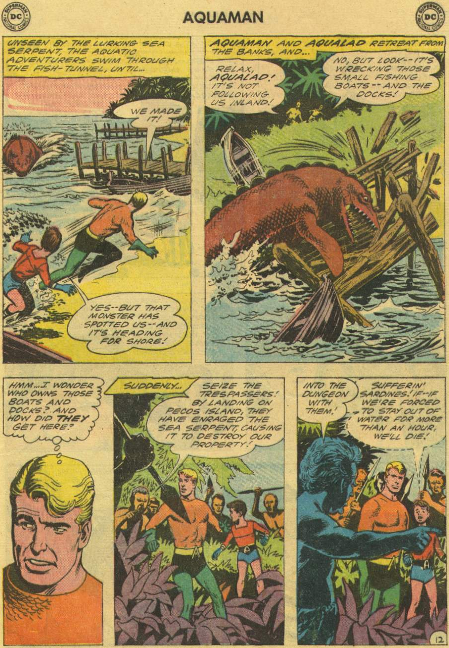 Read online Aquaman (1962) comic -  Issue #2 - 17
