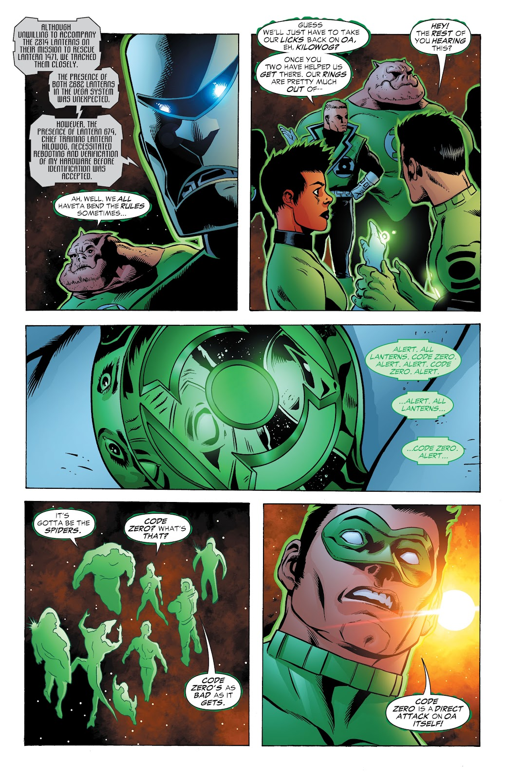Read online Green Lantern by Geoff Johns comic -  Issue # TPB 1 (Part 3) - 70