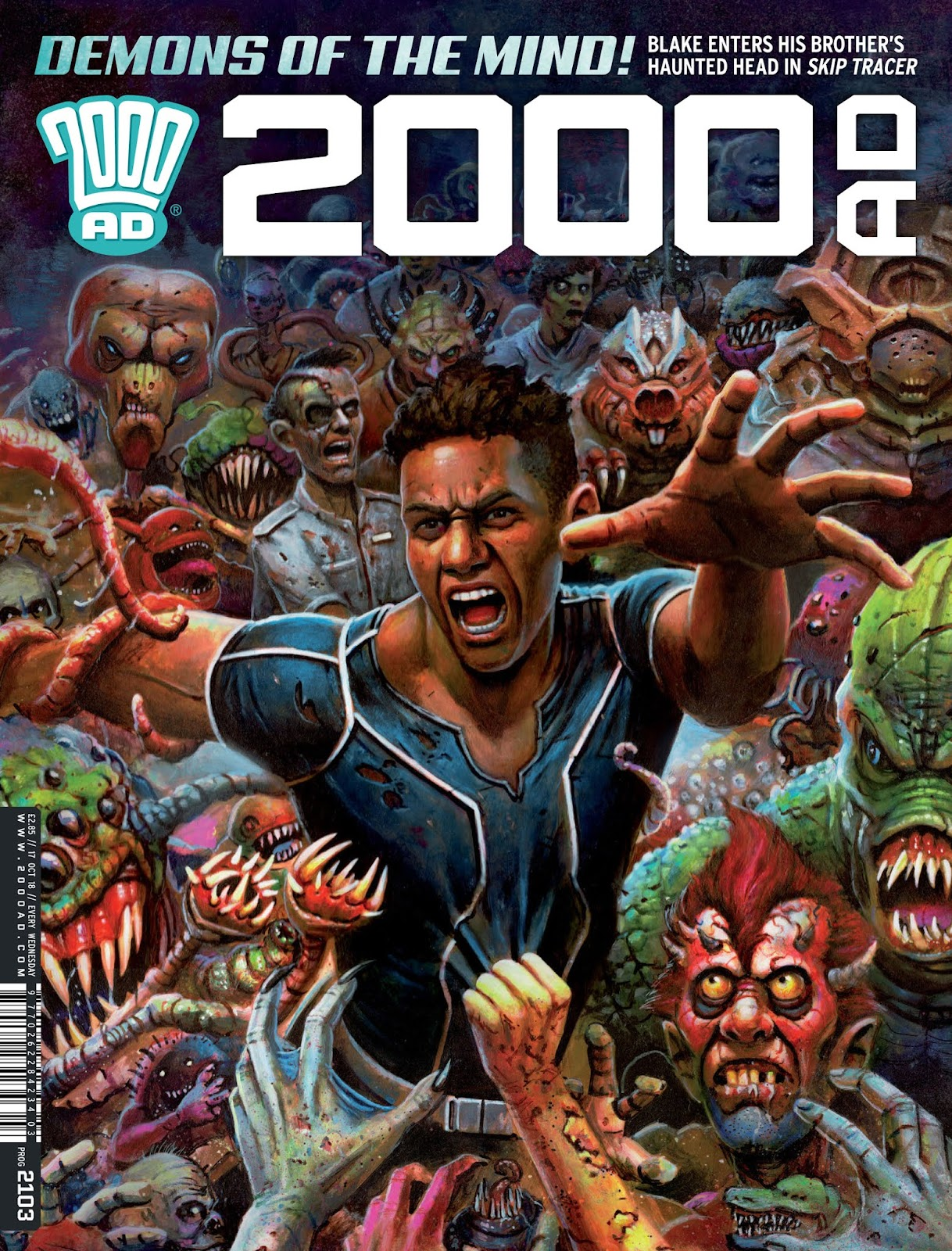 2000 AD issue 2103 - Page 1