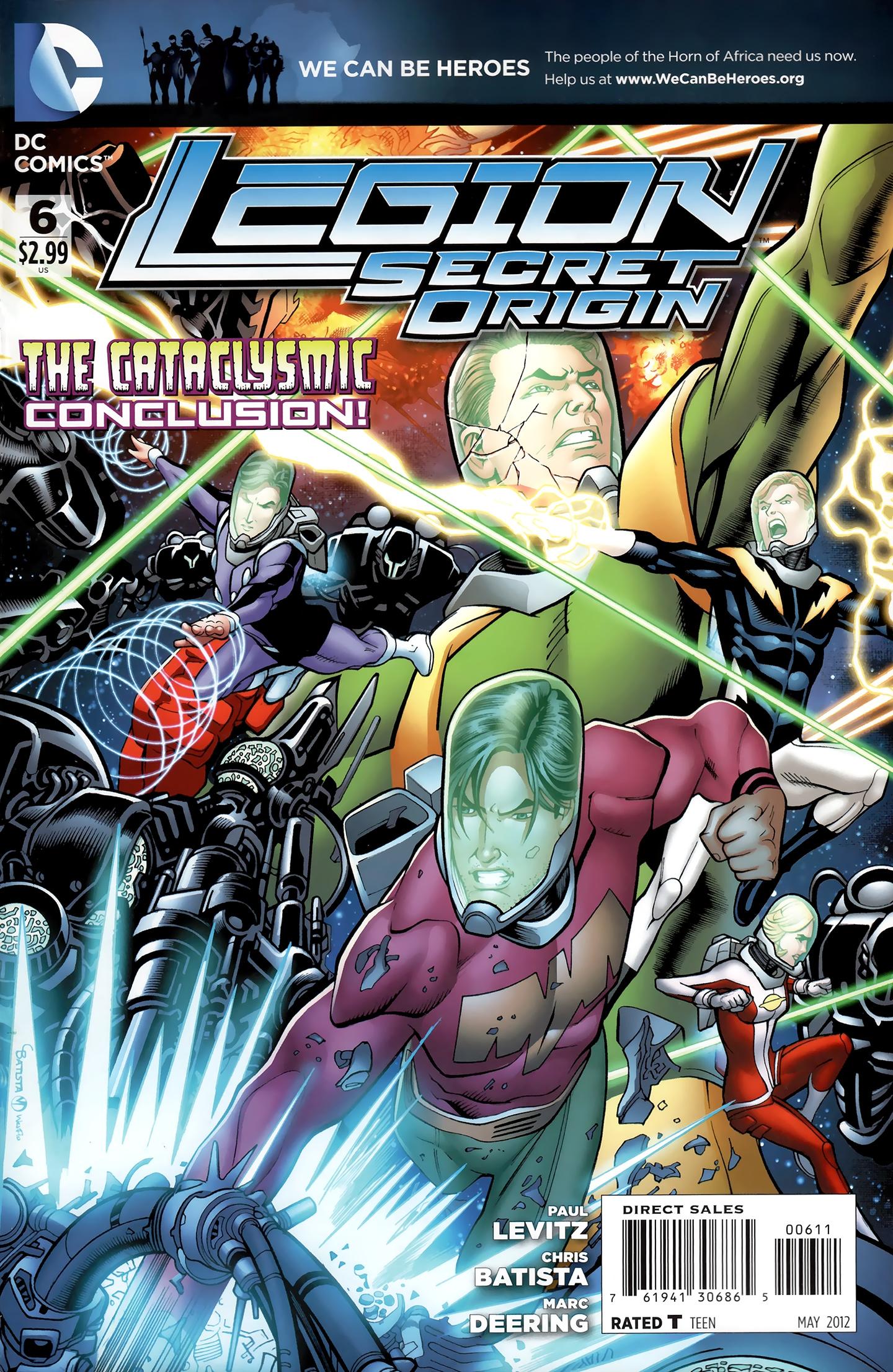 Legion: Secret Origin issue 6 - Page 1