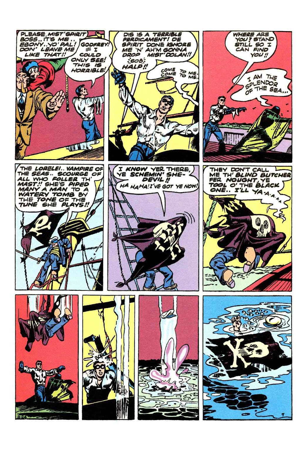 Read online Will Eisner's The Spirit Archives comic -  Issue # TPB 3 (Part 1) - 64