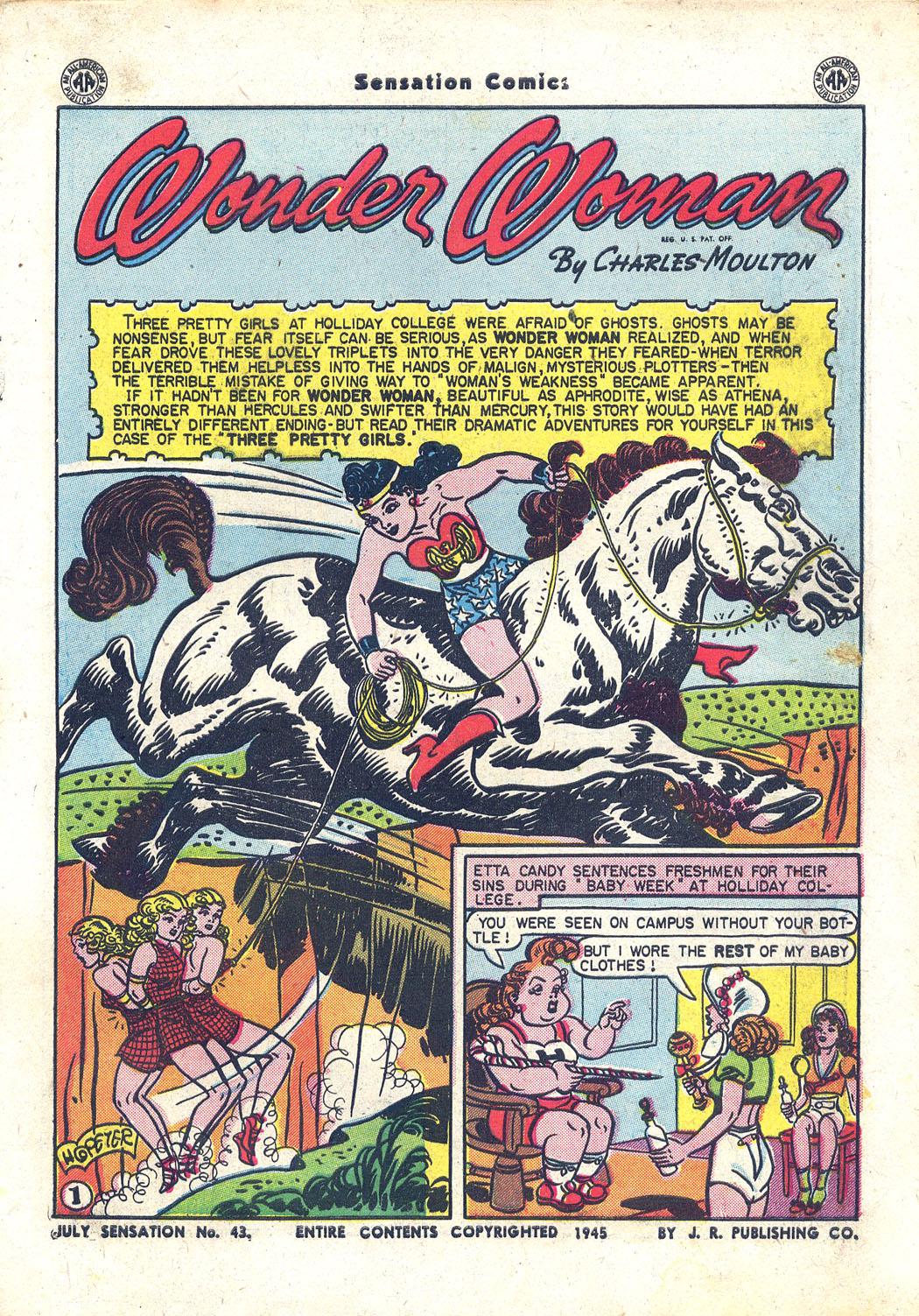 Read online Sensation (Mystery) Comics comic -  Issue #43 - 2