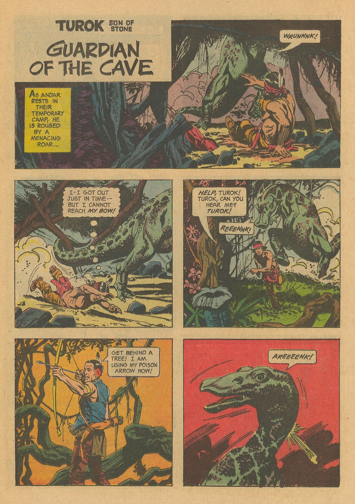 Read online Turok, Son of Stone comic -  Issue #32 - 21