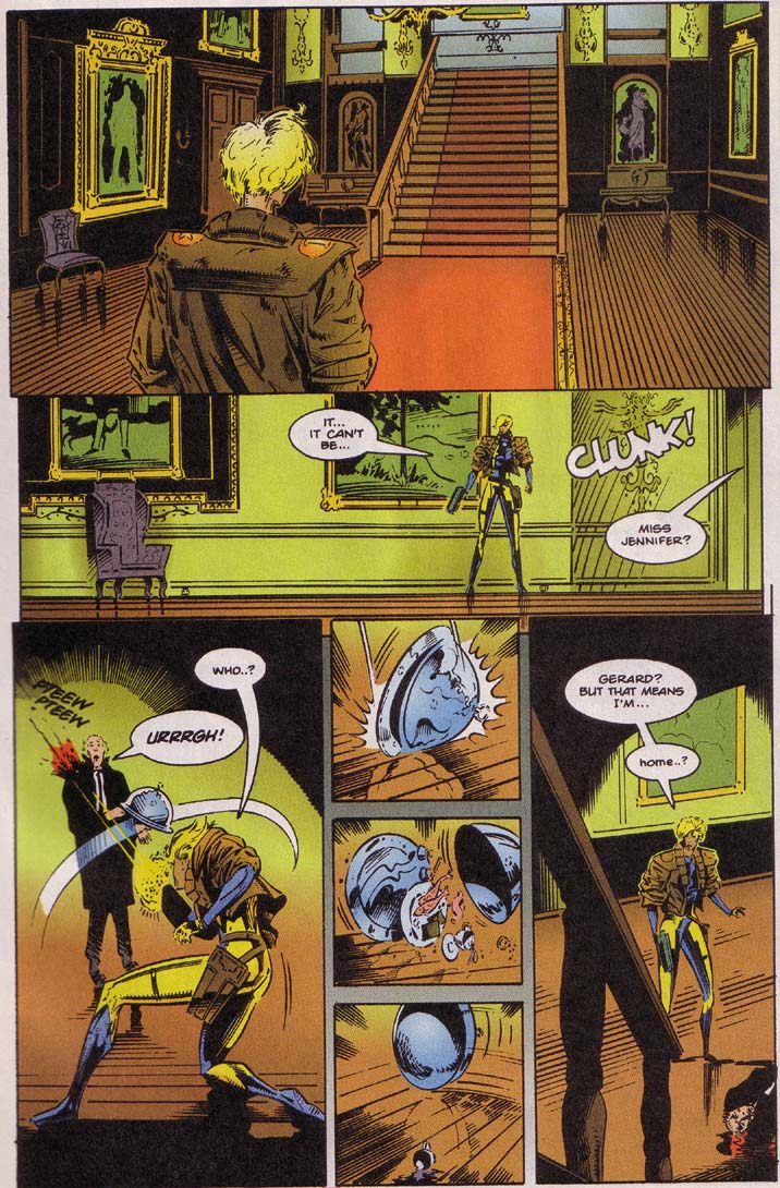 Read online Cyberspace 3000 comic -  Issue #4 - 4
